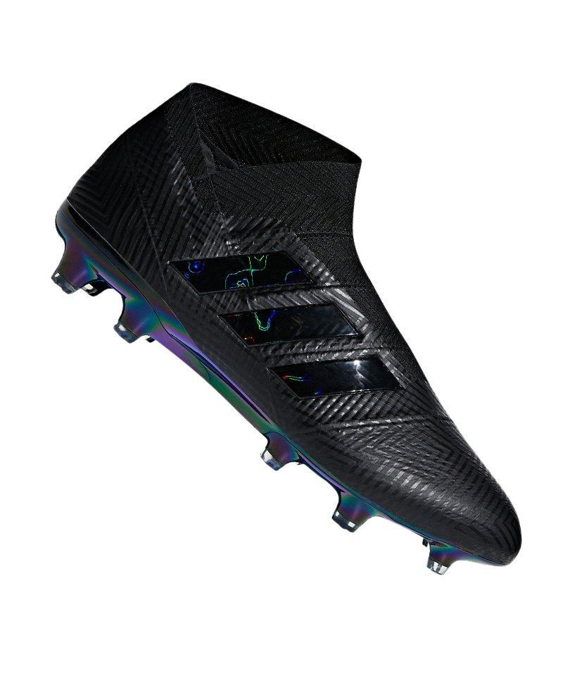 adidas NEMEZIZ 18+ FG Schwarz - schwarz