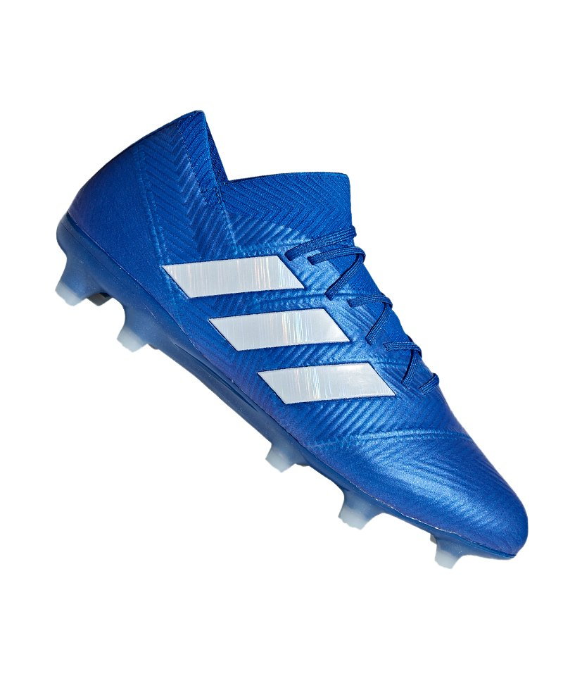 adidas NEMEZIZ 18.1 FG Blau Weiss - blau