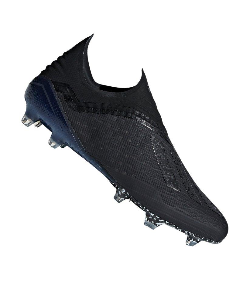 adidas X 18+ FG Schwarz - schwarz