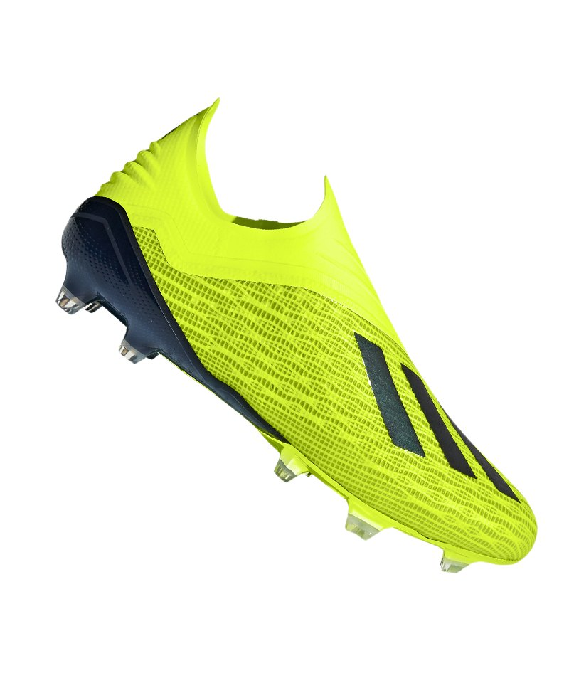 adidas X 18+ FG Gelb Schwarz - gelb