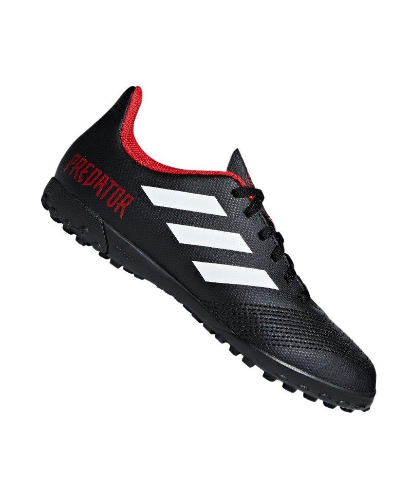 adidas Predator Tango 18.4 TF J Kids Schwarz - schwarz