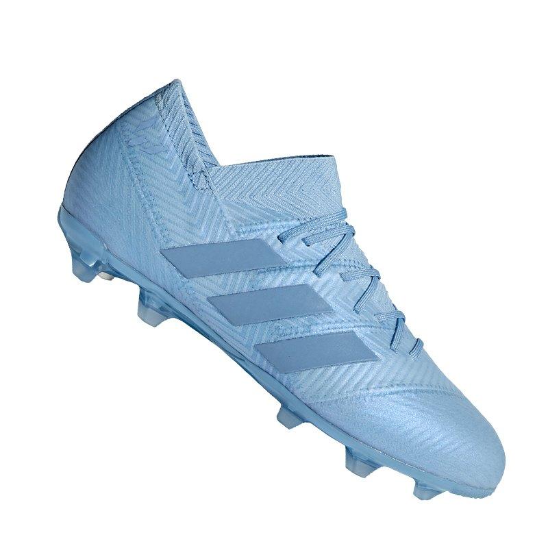 adidas NEMEZIZ Messi 18.1 FG J Kids Blau - blau