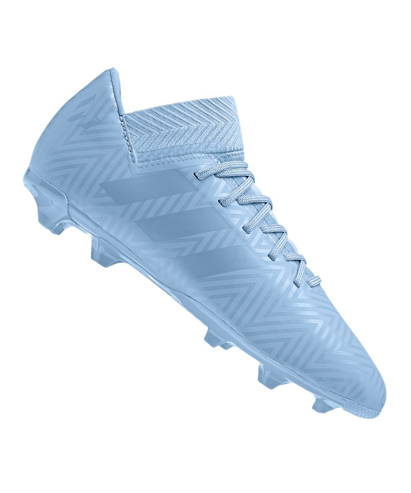 adidas NEMEZIZ Messi 18.3 FG J Kids Blau - blau