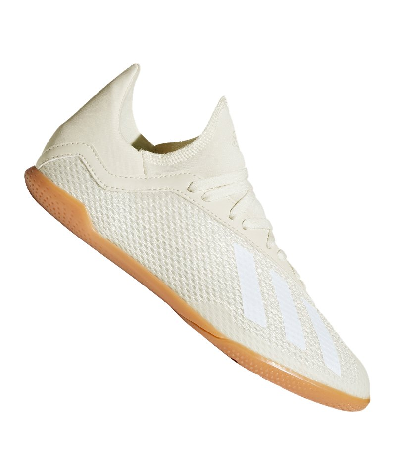 adidas X Tango 18.3 IN Halle J Kids Weiss