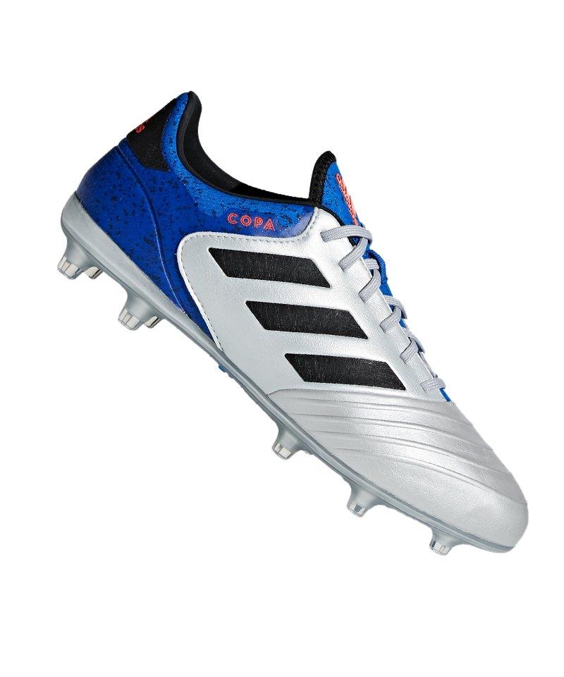 adidas COPA 18.2 FG Silber Blau - silber