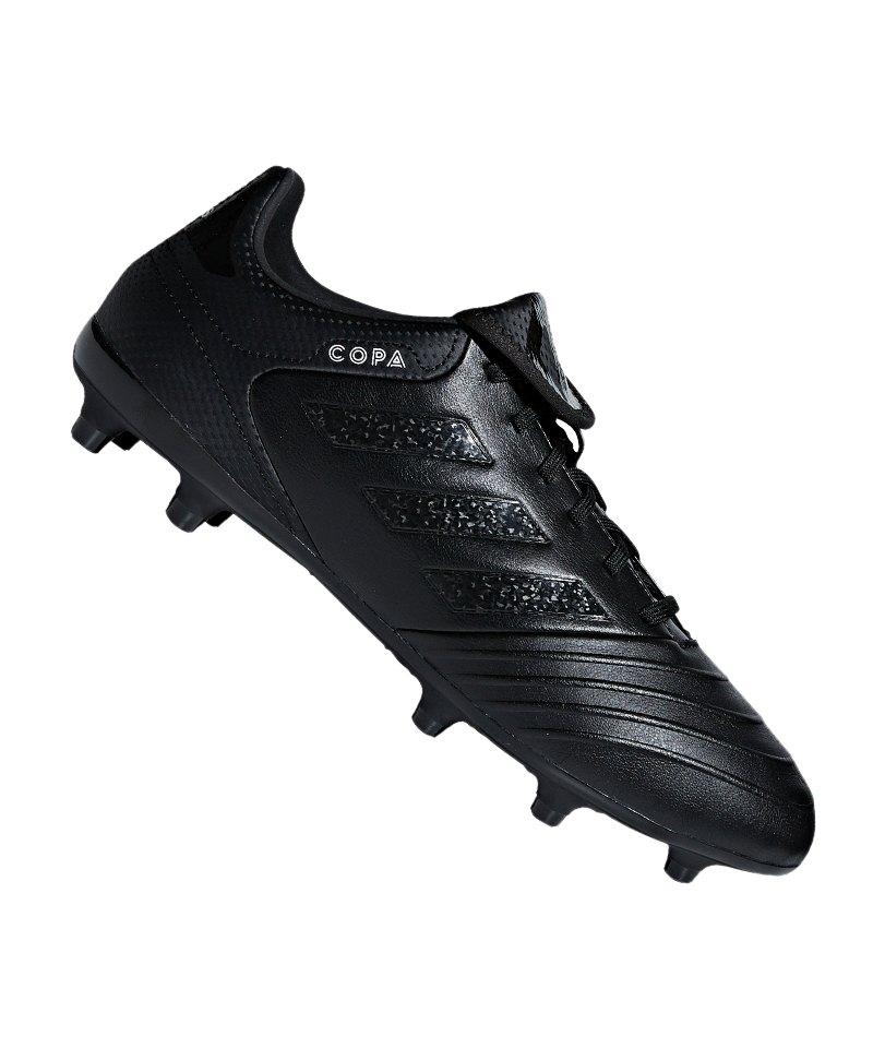 adidas COPA 18.3 FG Schwarz - schwarz
