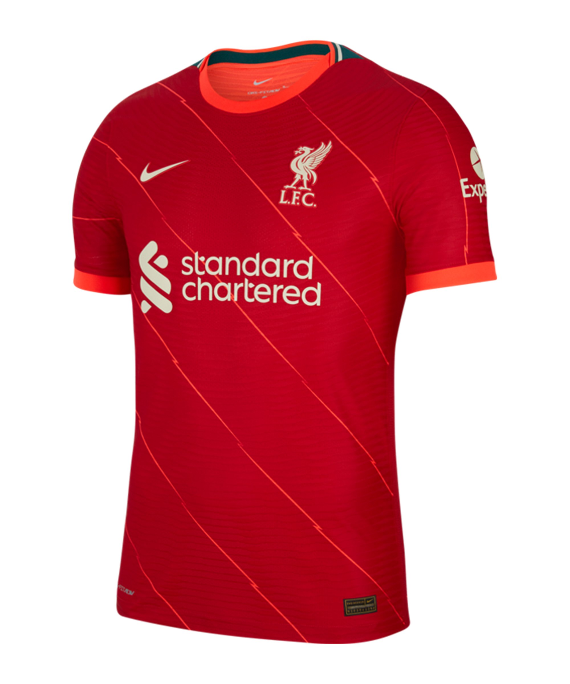 Nike FC Liverpool Auth. Trikot Home 2021/2022 F688 - rot