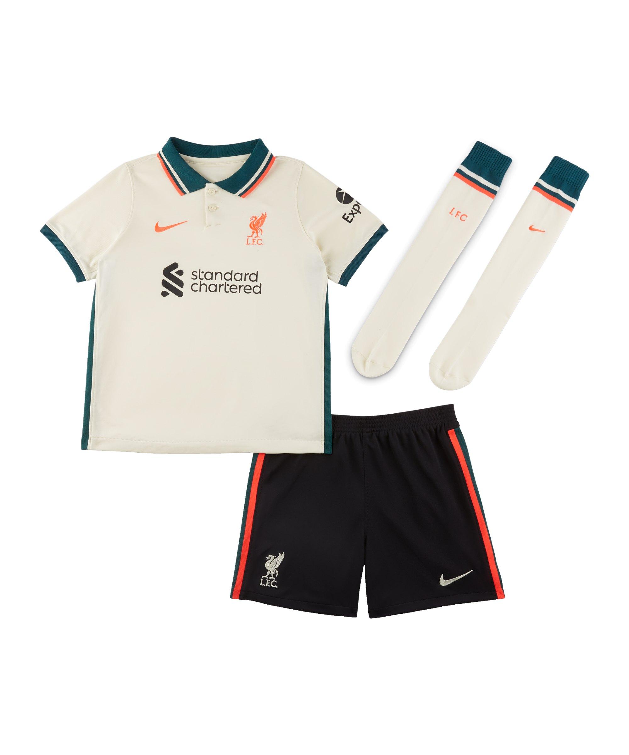 Nike FC Liverpool Minikit Away 2021/2022 F111 - weiss