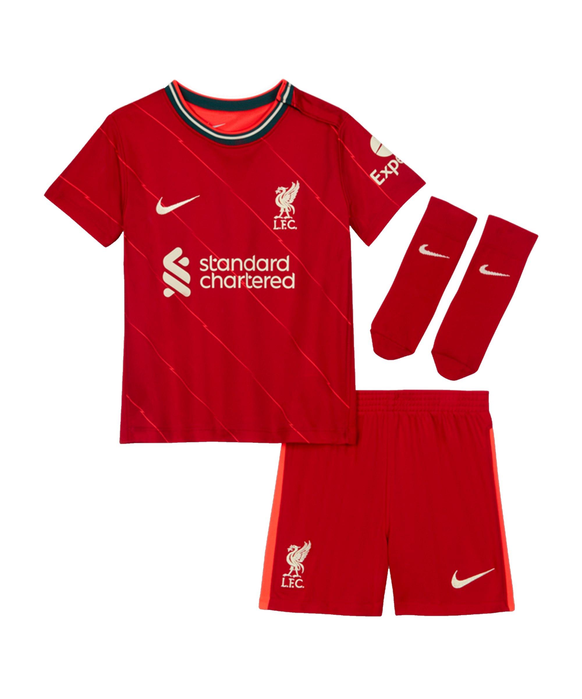 Nike FC Liverpool Babykit Home 2020/2021 F688 - rot