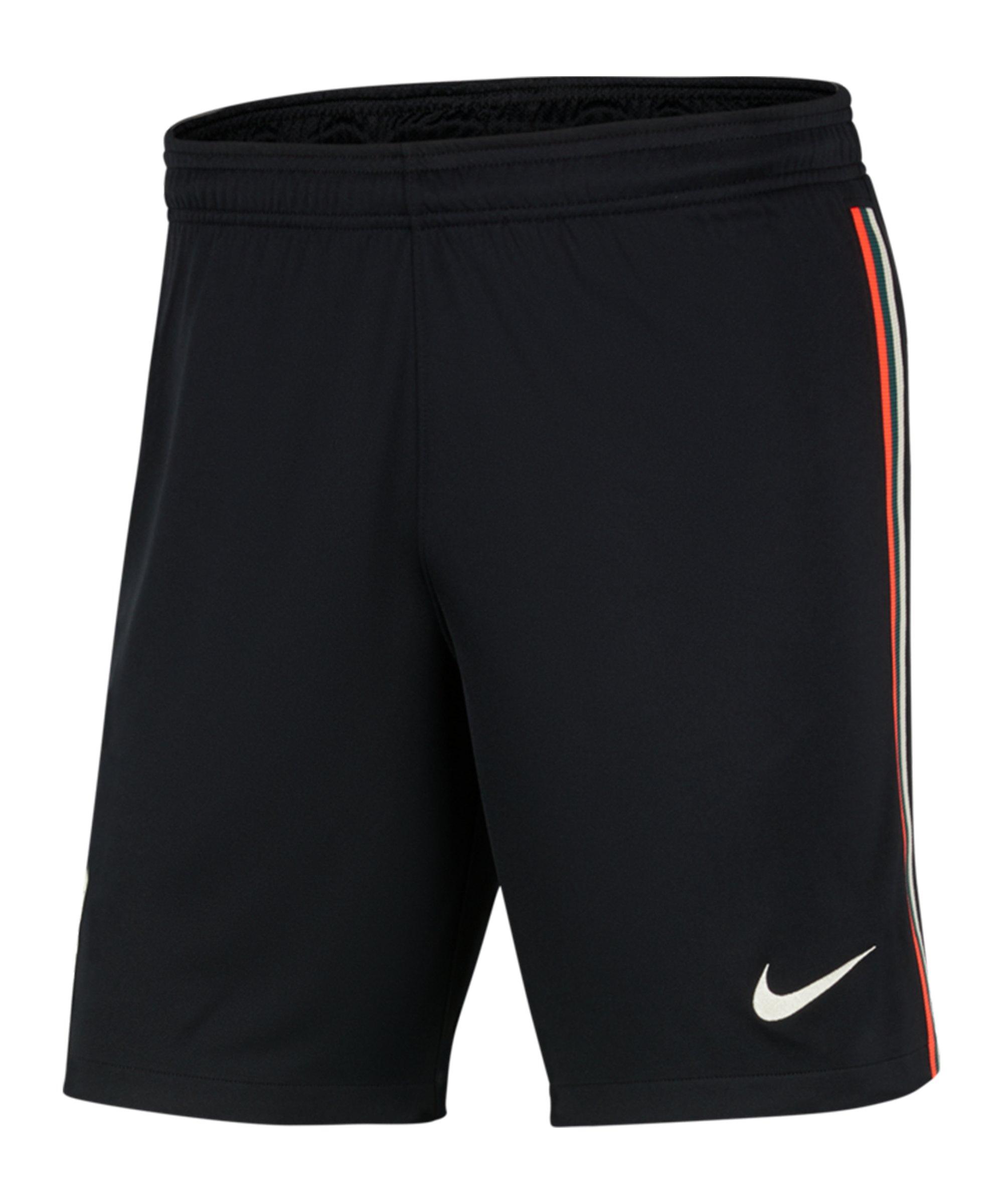 Nike FC Liverpool Short Away 2021/2022 Kids F010 - schwarz