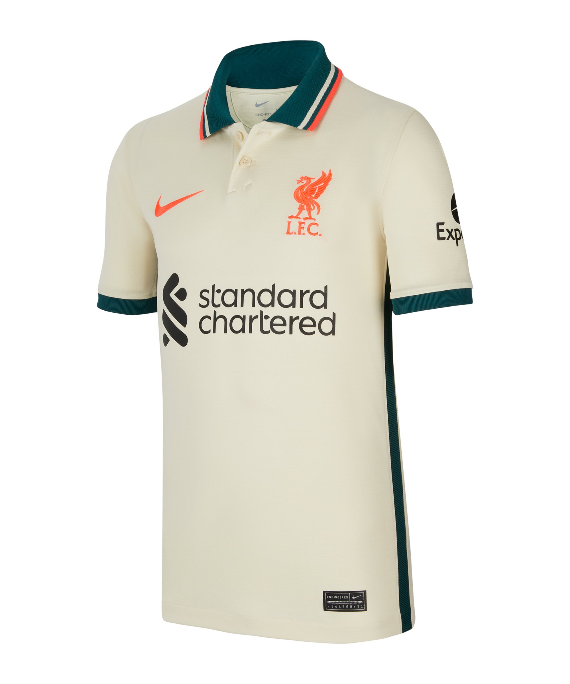 Nike FC Liverpool Trikot Away 2021/2022 Kids F111 - beige