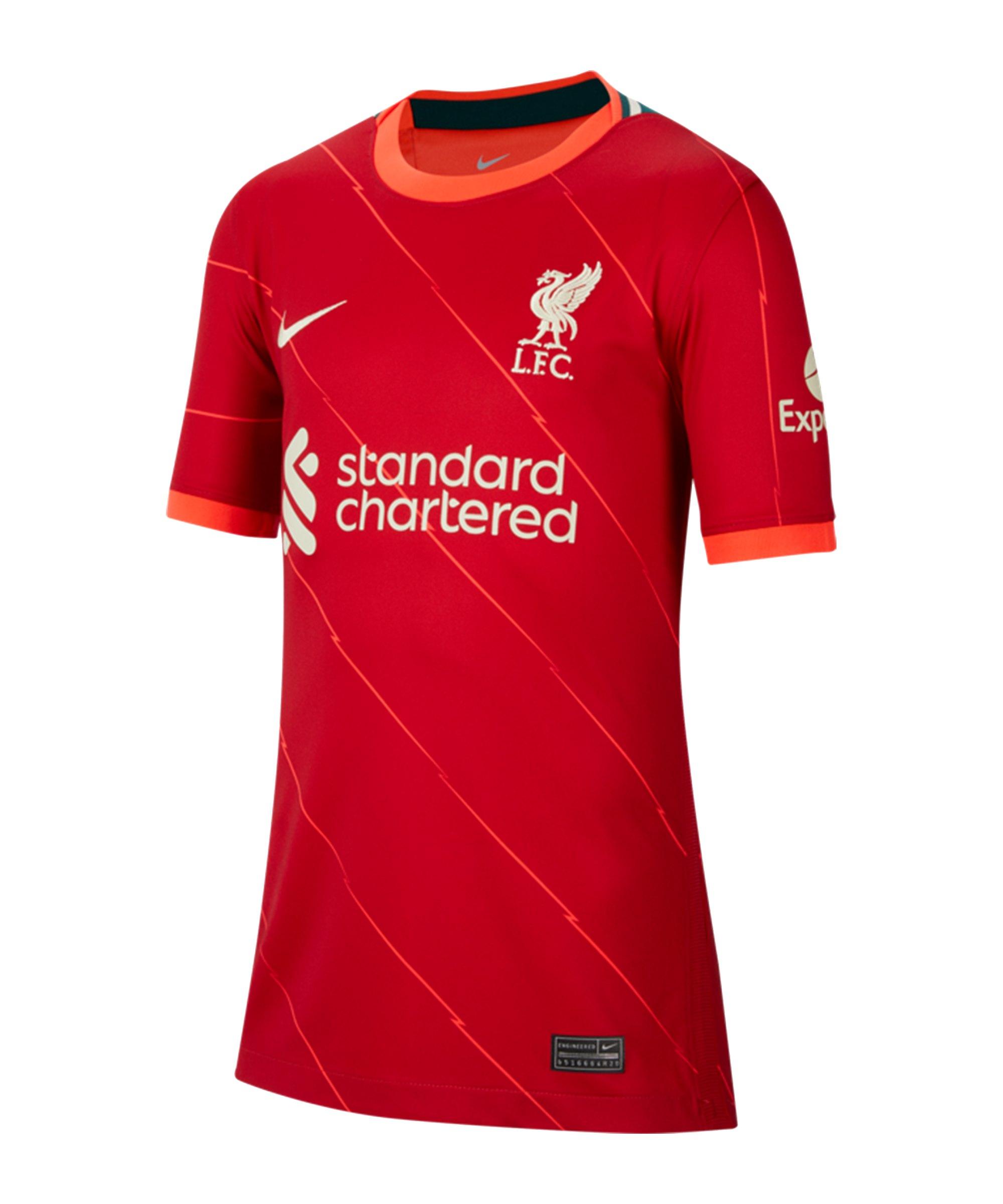 Nike FC Liverpool Trikot Home 2021/2022 Kids F688 - rot