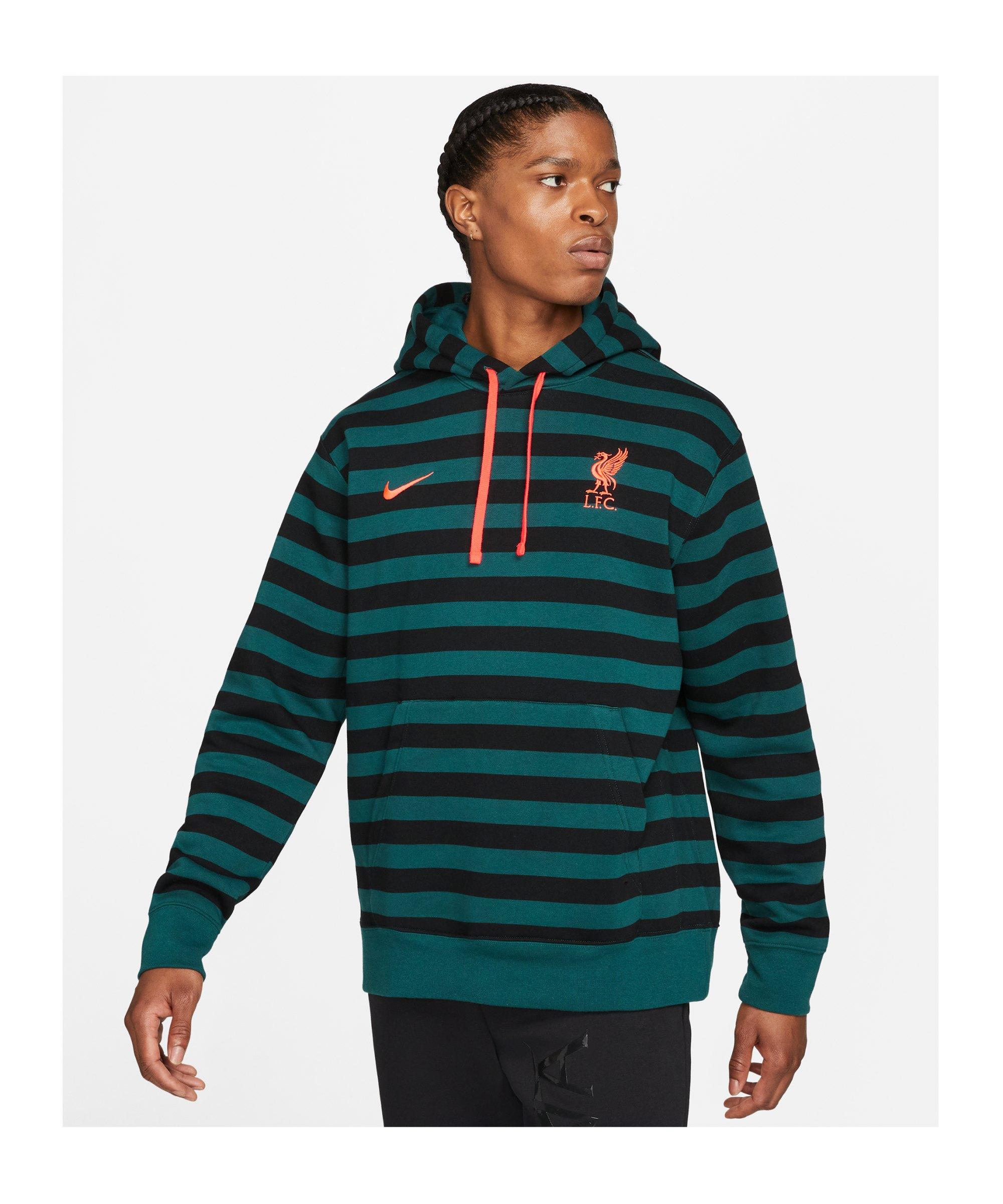 Nike FC Liverpool Club Hoody Grau F375 - grau
