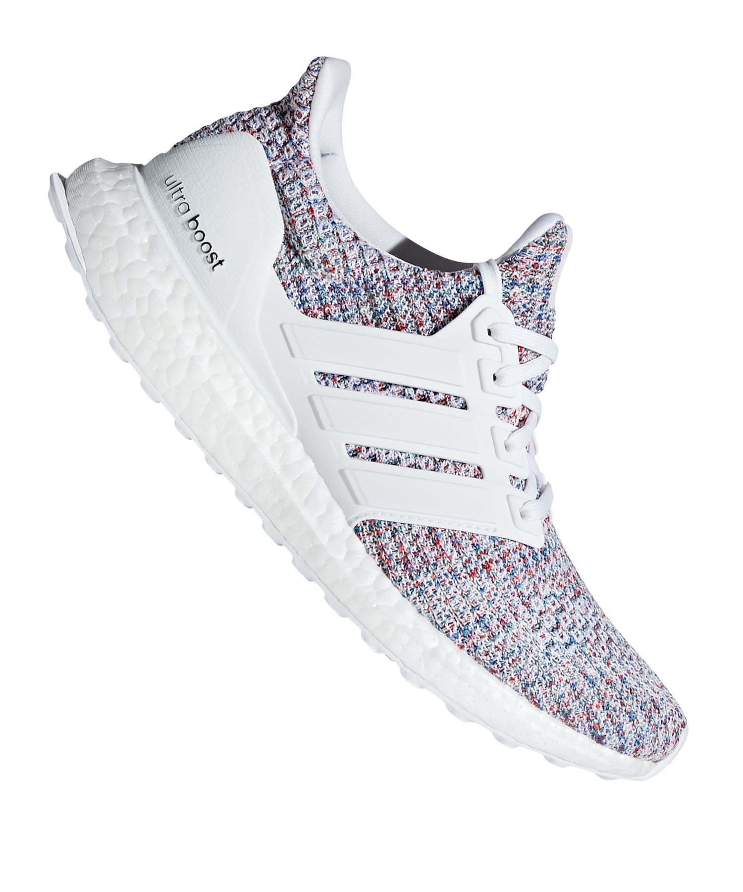 adidas Ultra Boost Running Damen Weiss Rot - weiss