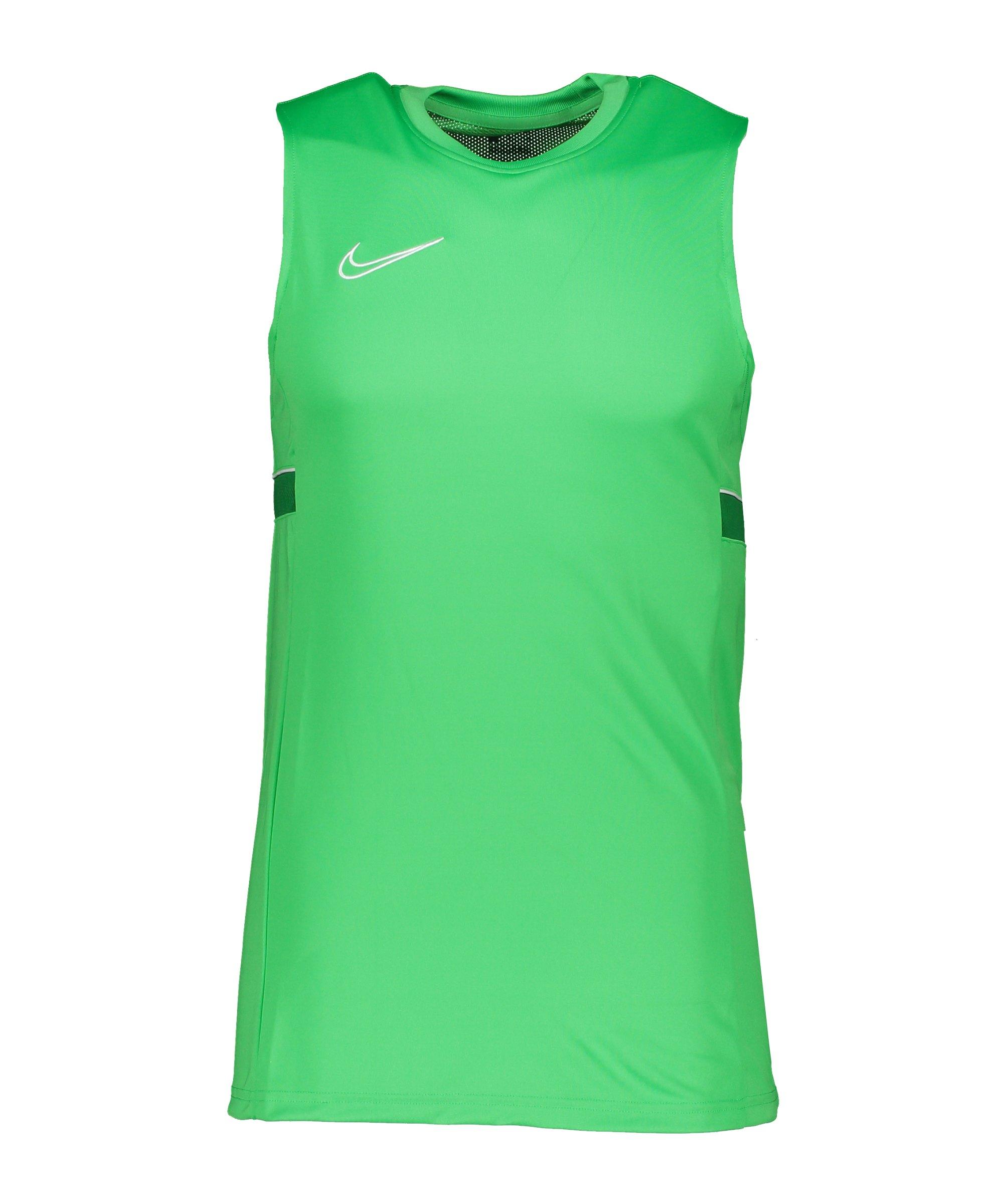 Nike Academy 21 Tanktop Grün Weiss F362 - gruen