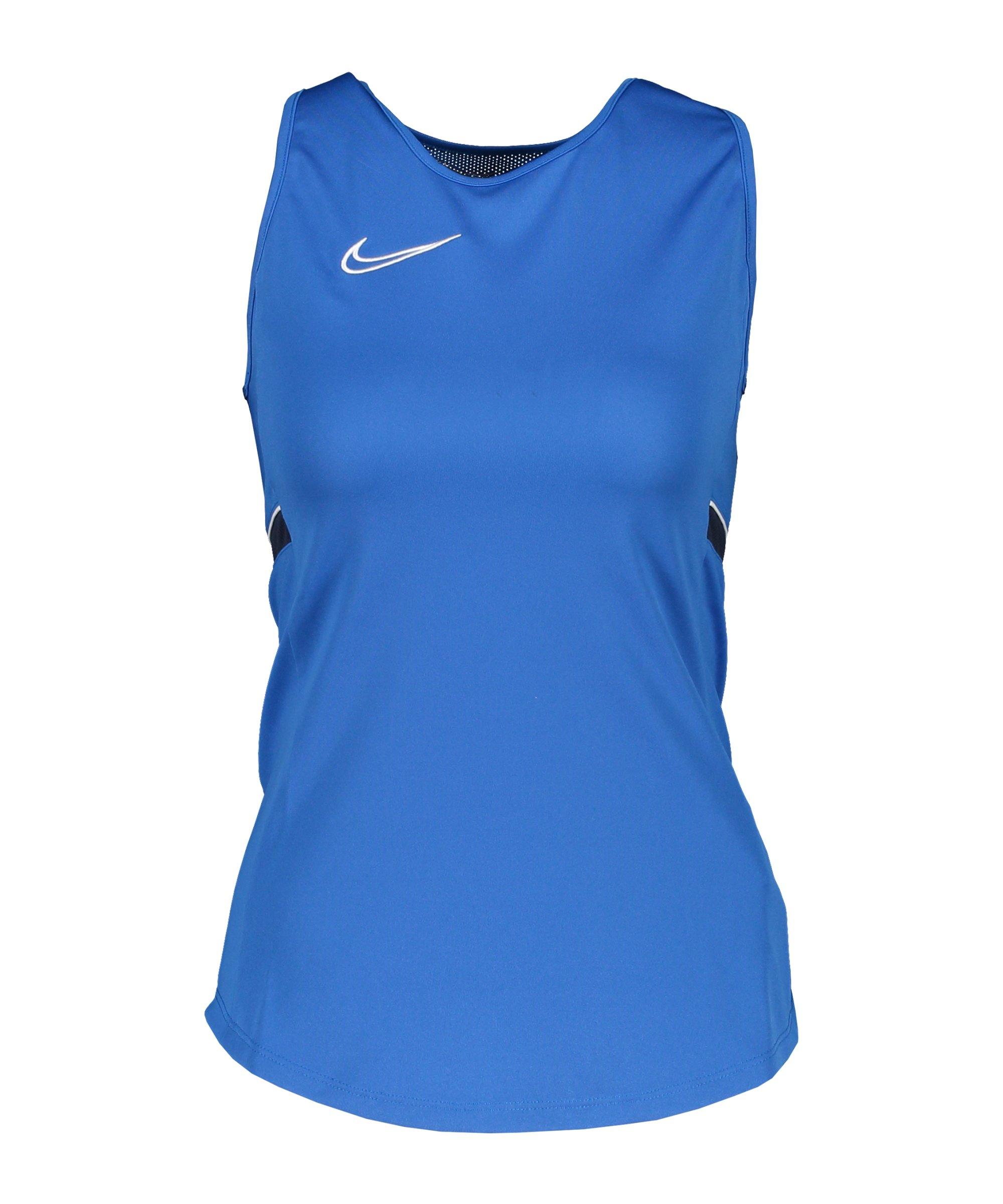 Nike Academy 21 Tanktop Damen Blau F463 - blau