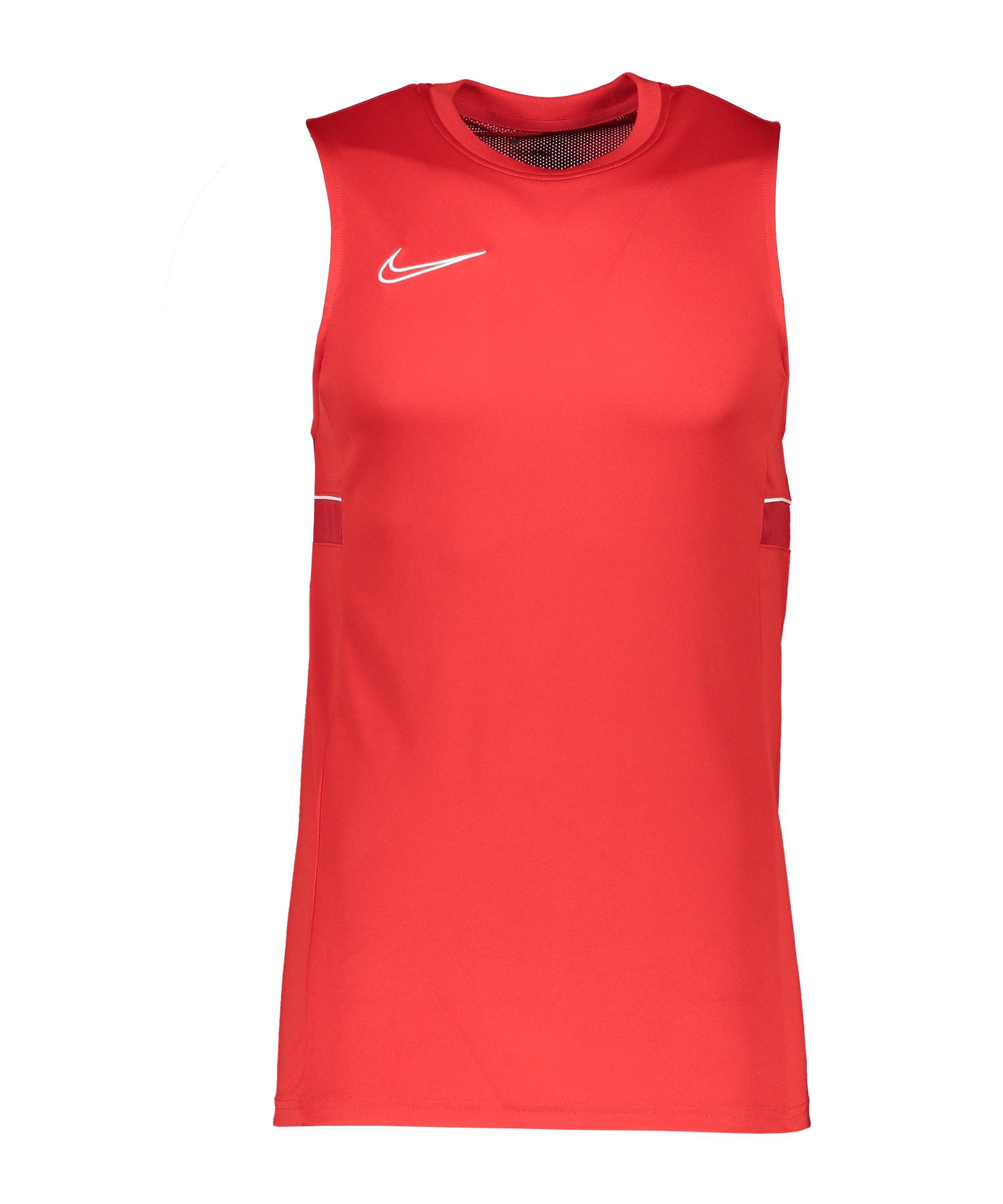 Nike Academy 21 Tanktop Kids Rot Weiss F657 - rot