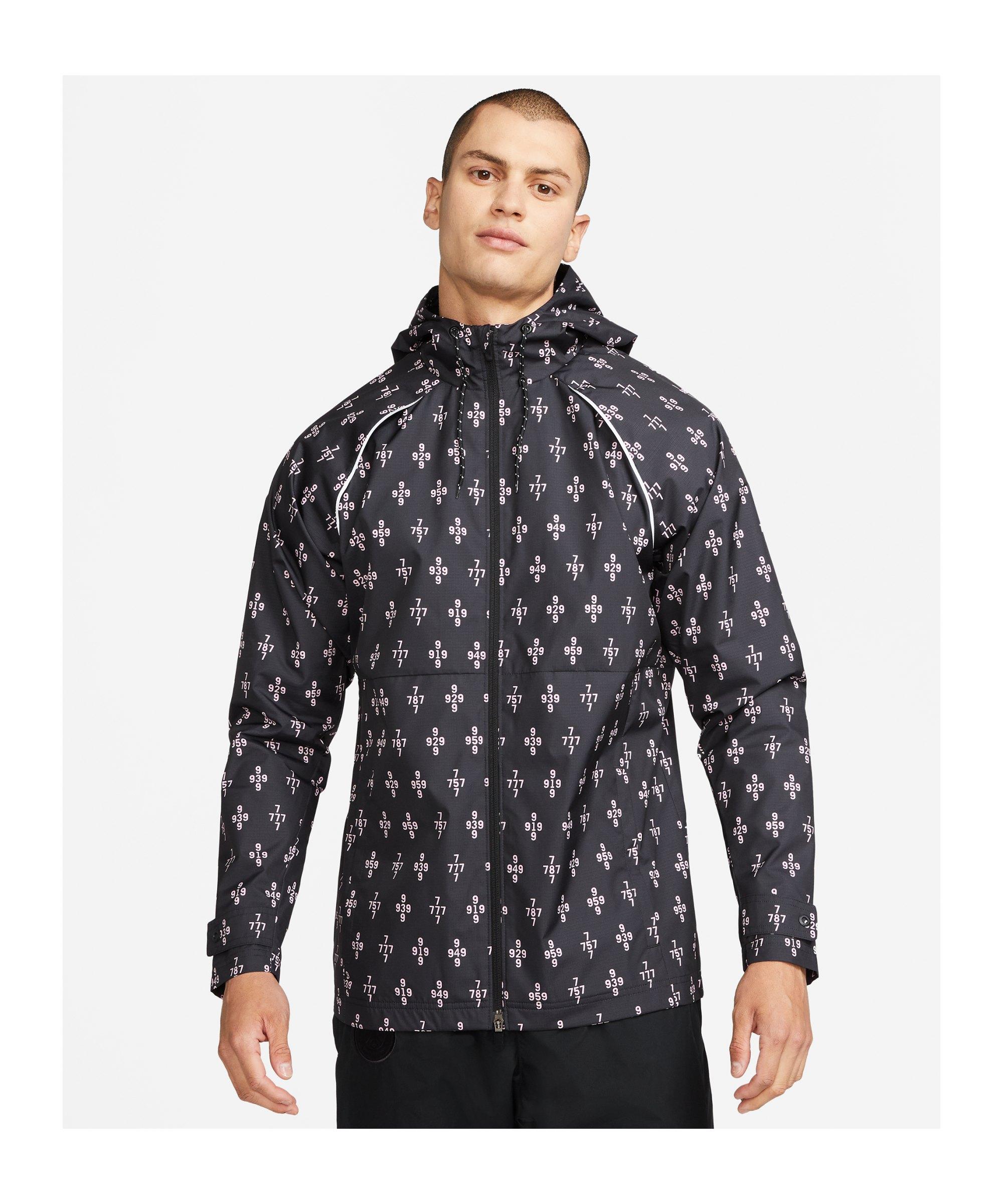Nike Paris St. Germain Trainingsjacke Schwarz F010 - schwarz