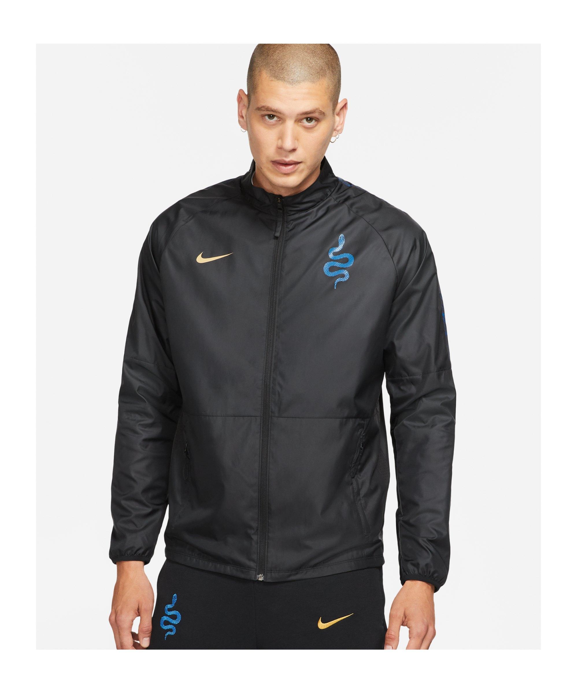 Nike Inter Mailand RPL Freizeitjacke Schwarz F010 - schwarz