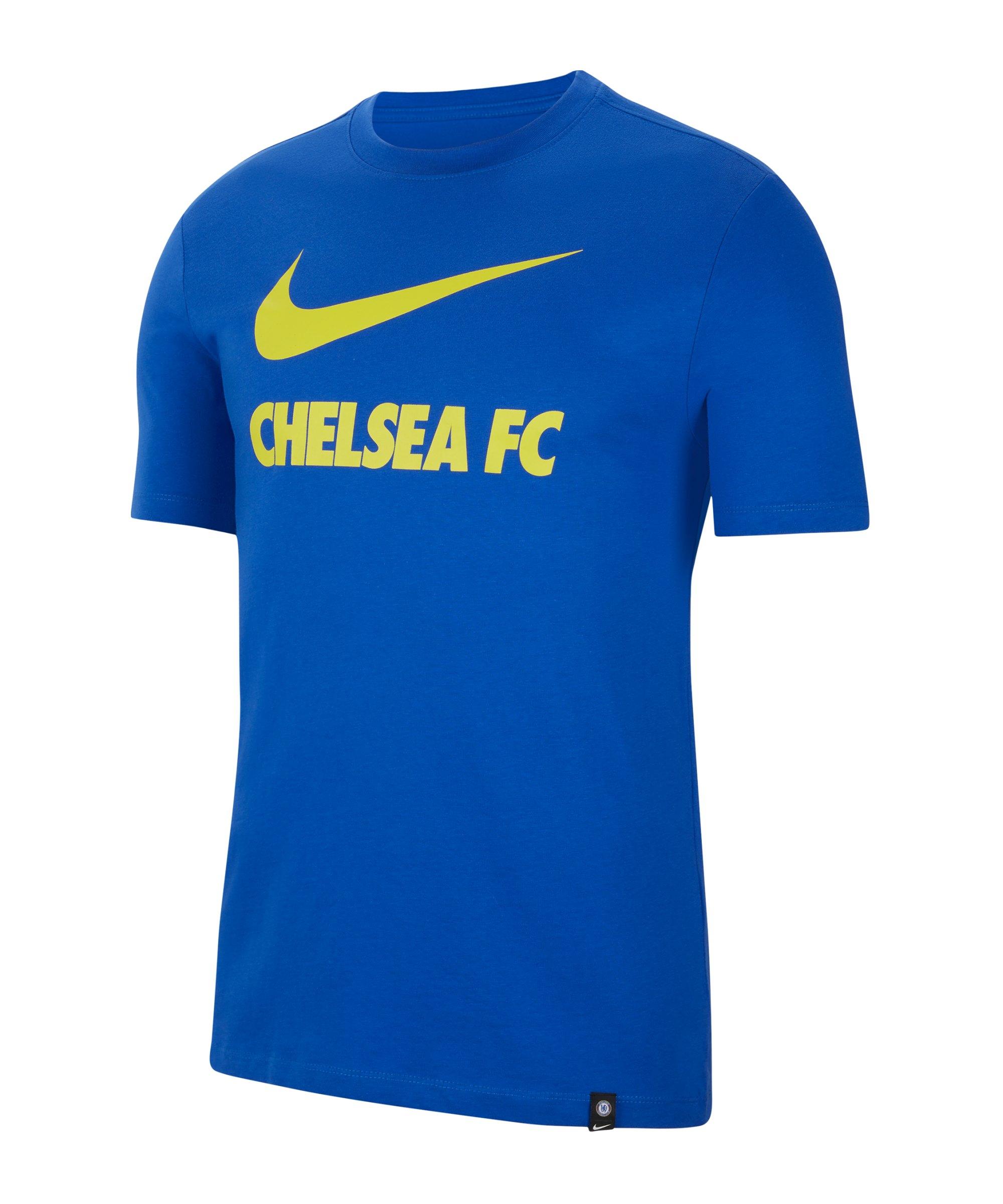 Nike FC Chelsea London Swoosh T-Shirt F480 - blau