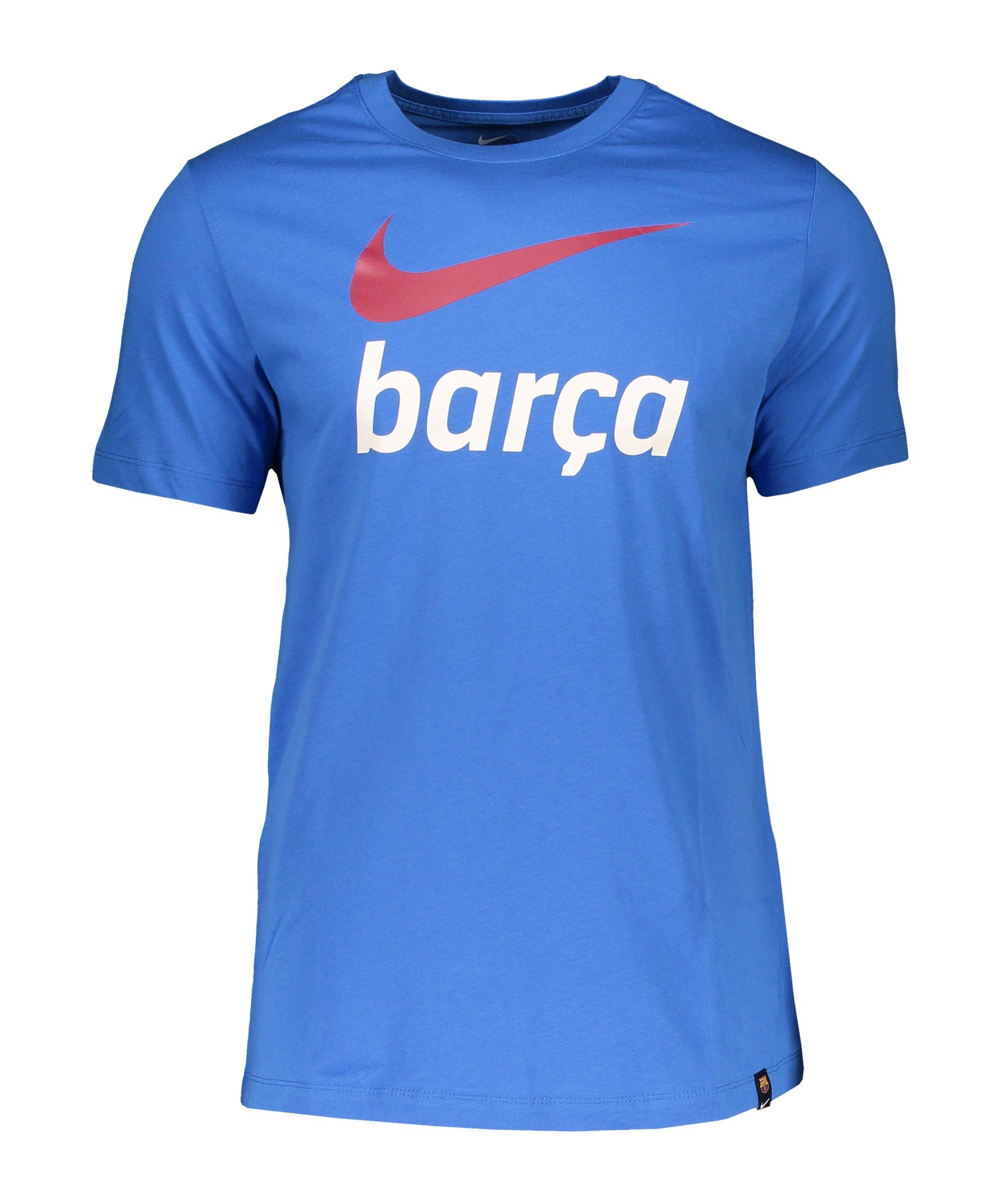 Nike FC Barcelona Swoosh Club T-Shirt F403 - blau