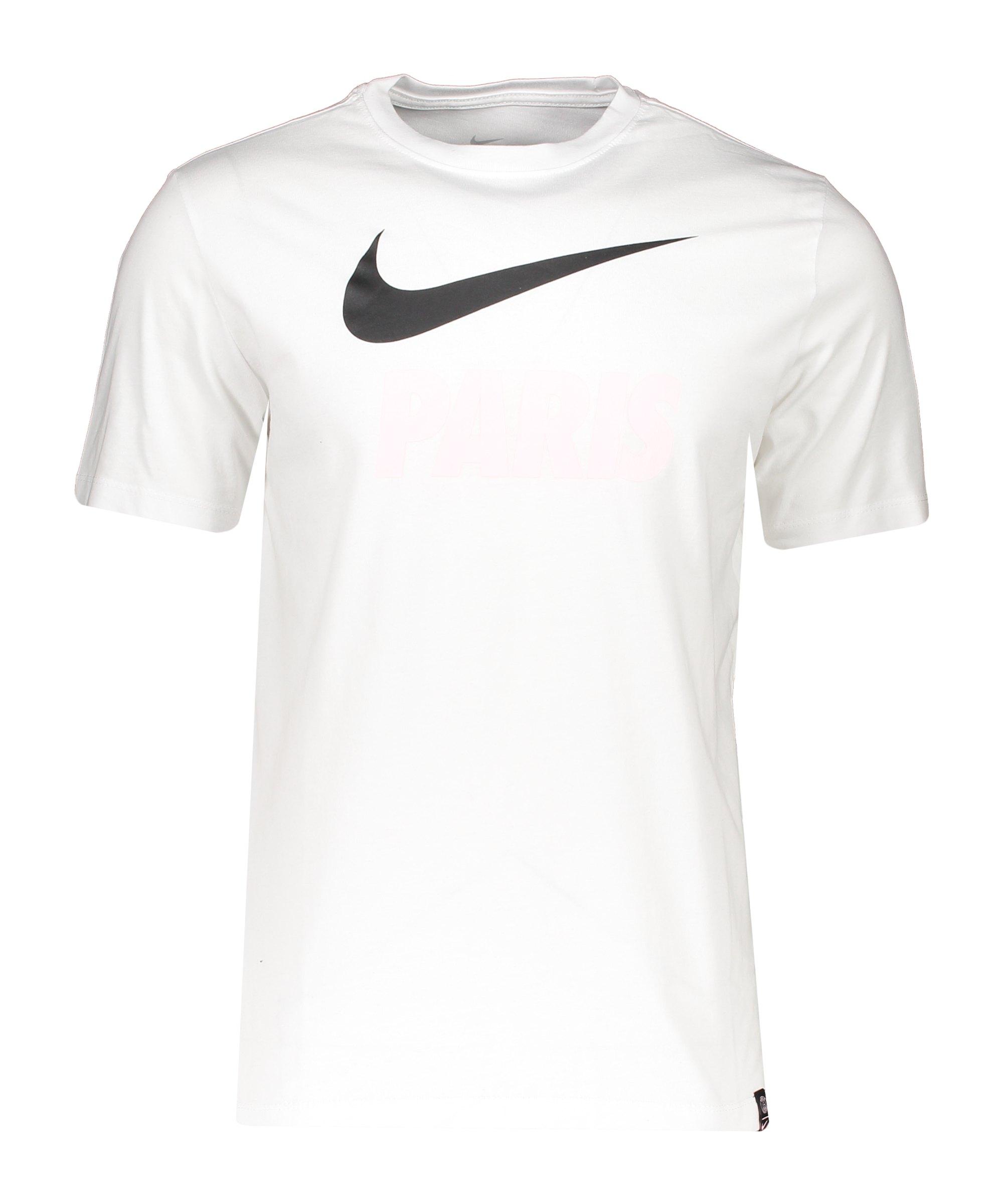 Nike Paris St. Germain Street T-Shirt Weiss F100 - weiss
