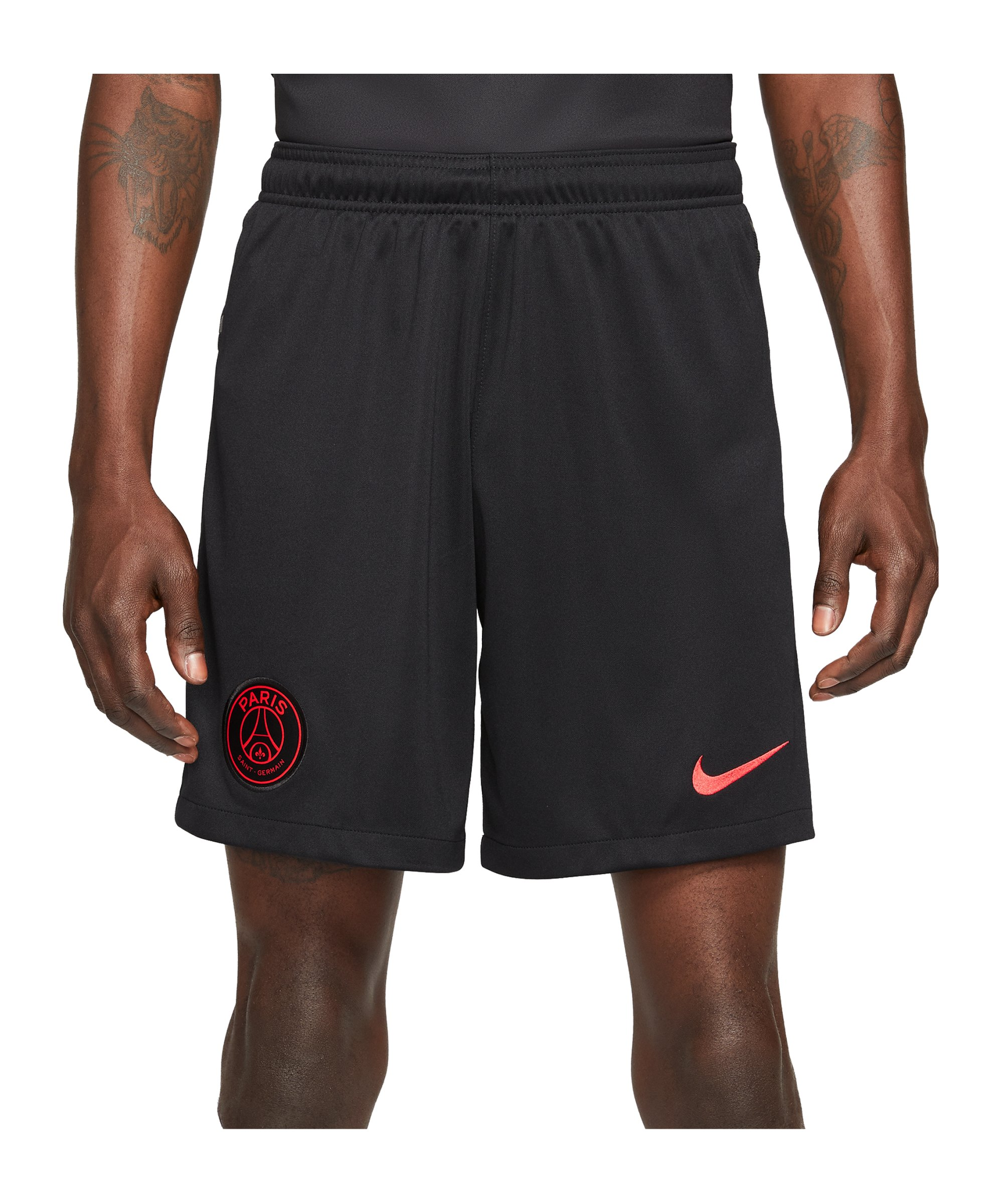 Nike Paris St. Germain Short UCL 2021/2022 Schwarz F010 - schwarz