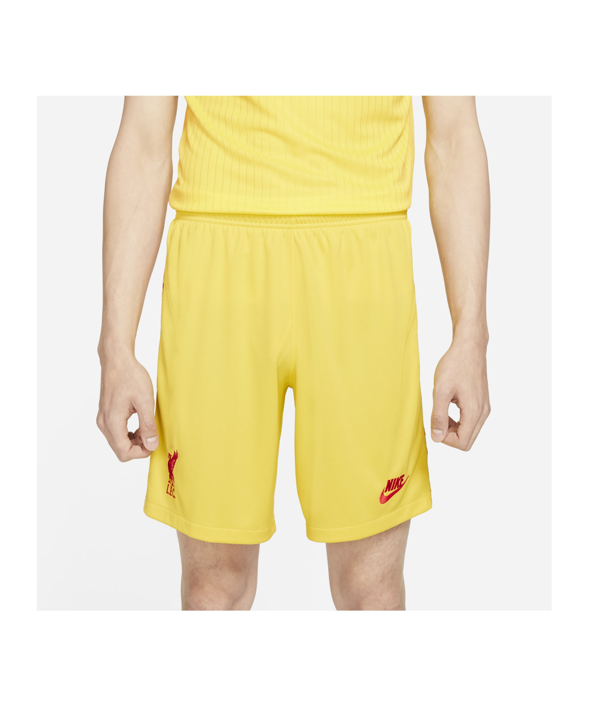 Nike FC Liverpool Short UCL 2021/2022 Gelb F703 - gelb