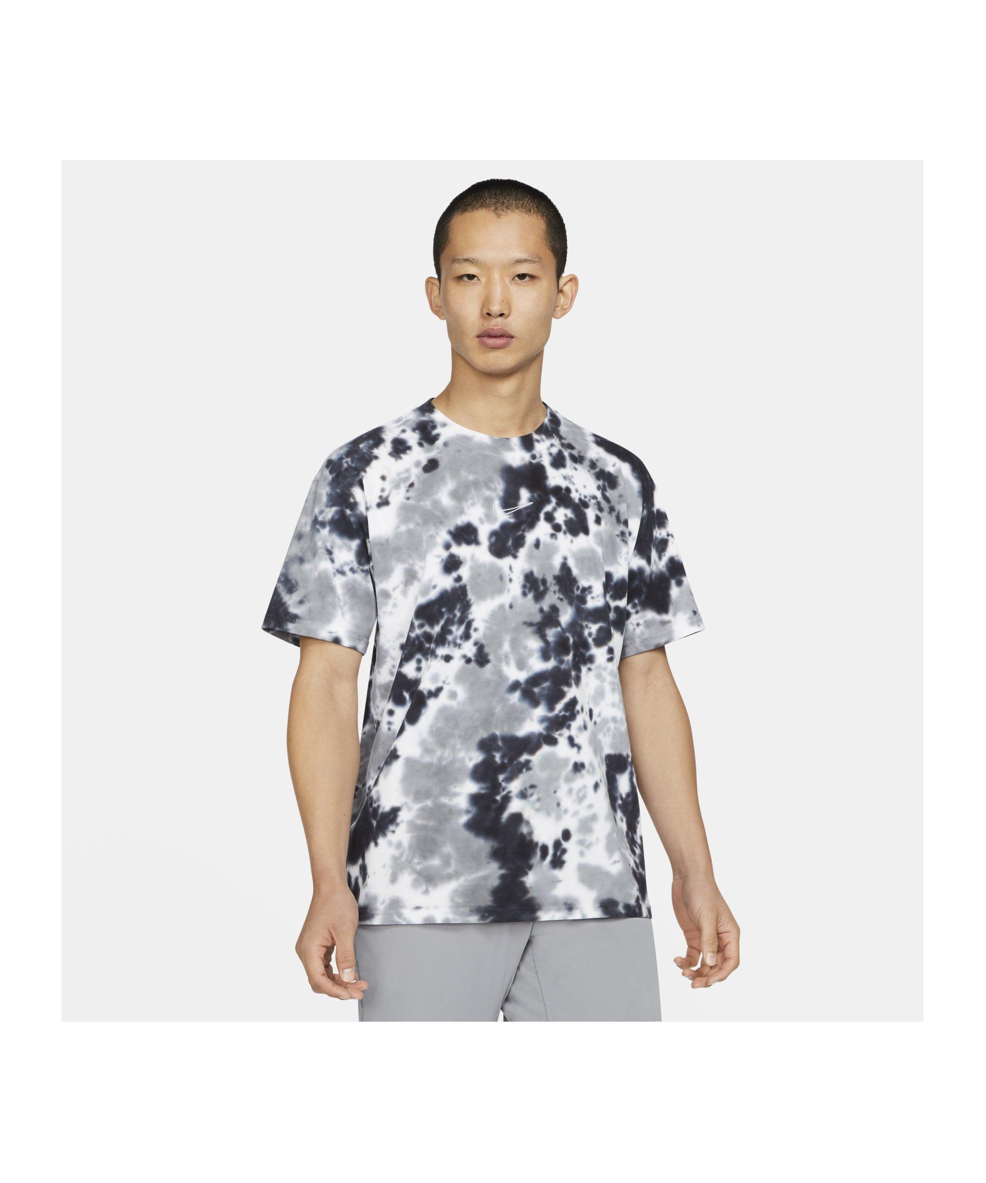 Nike Max 90 Wild Tie Dye T-Shirt Weiss Grau F101 - weiss