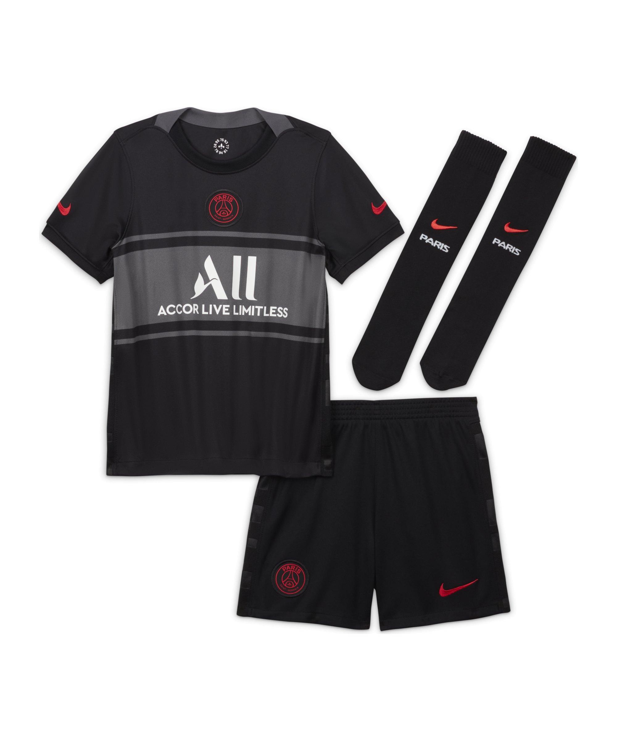 Nike Paris St. Germain Minikit UCL 2021/2022 F011 - schwarz