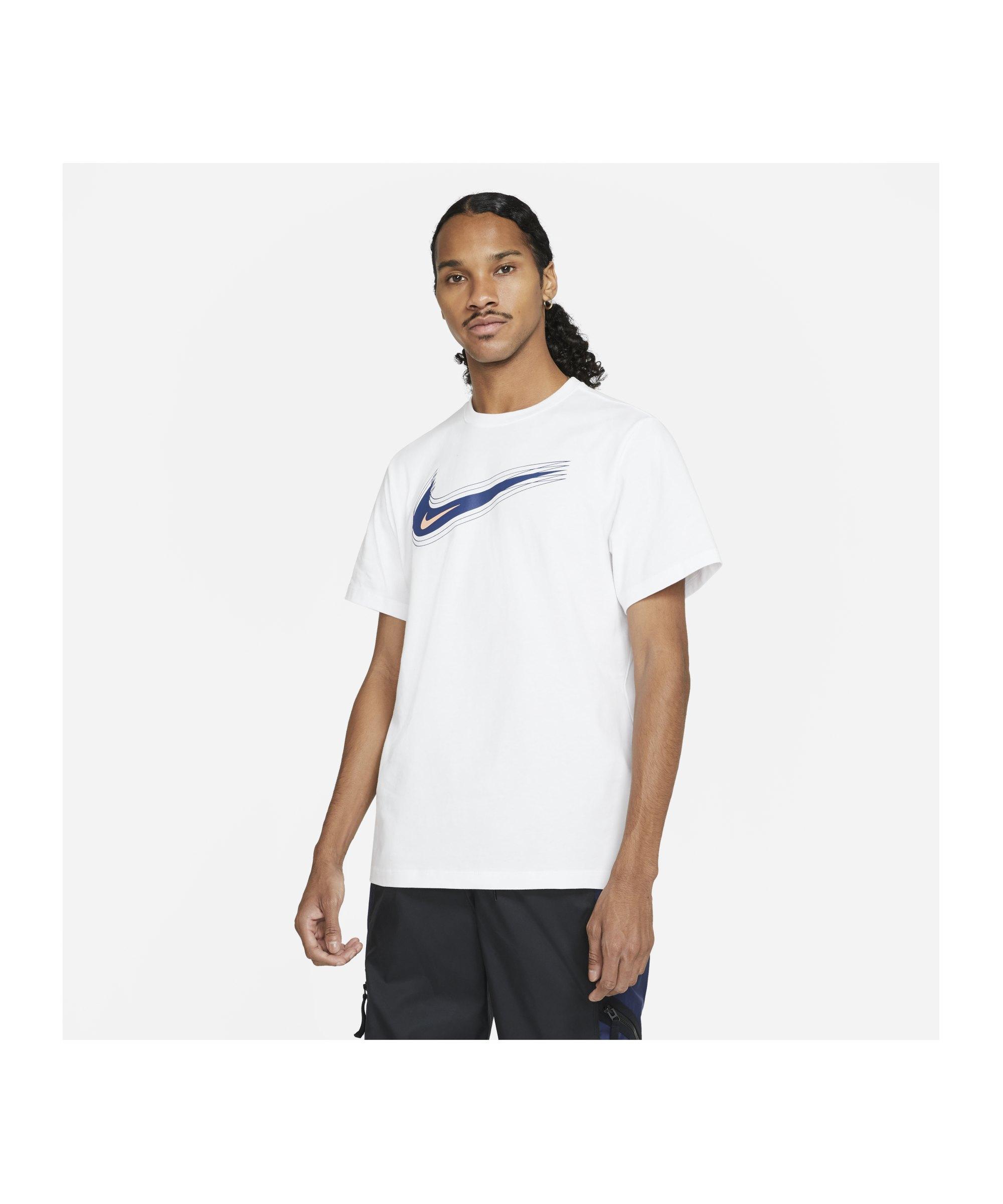 Nike Swoosh 12 Month T-Shirt Weiss F100 - weiss