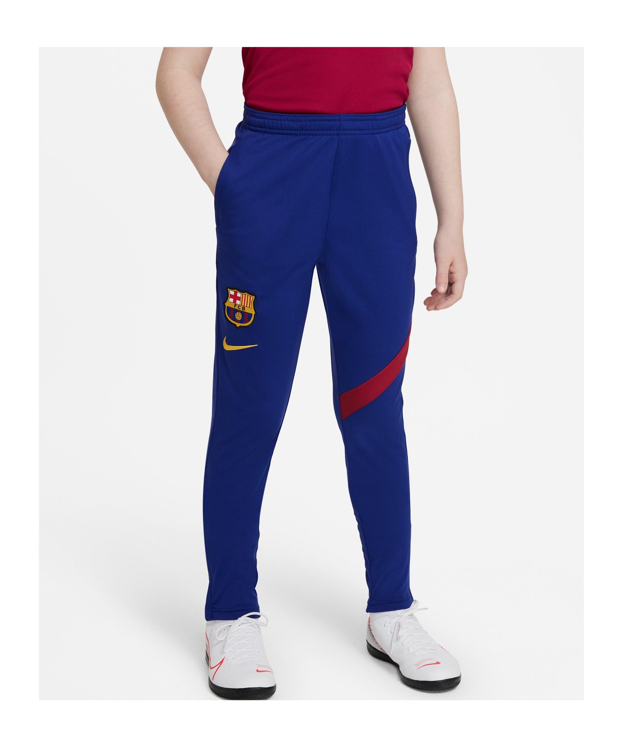 Nike FC Barcelona Trainingshose Kids Blau F459 - blau