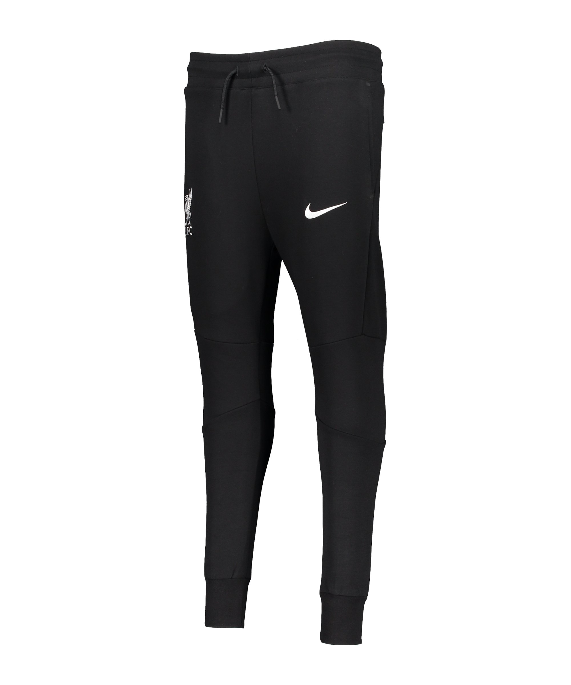 Nike FC Liverpool Tech Fleece Jogginghose CL Kids Schwarz F010 - schwarz