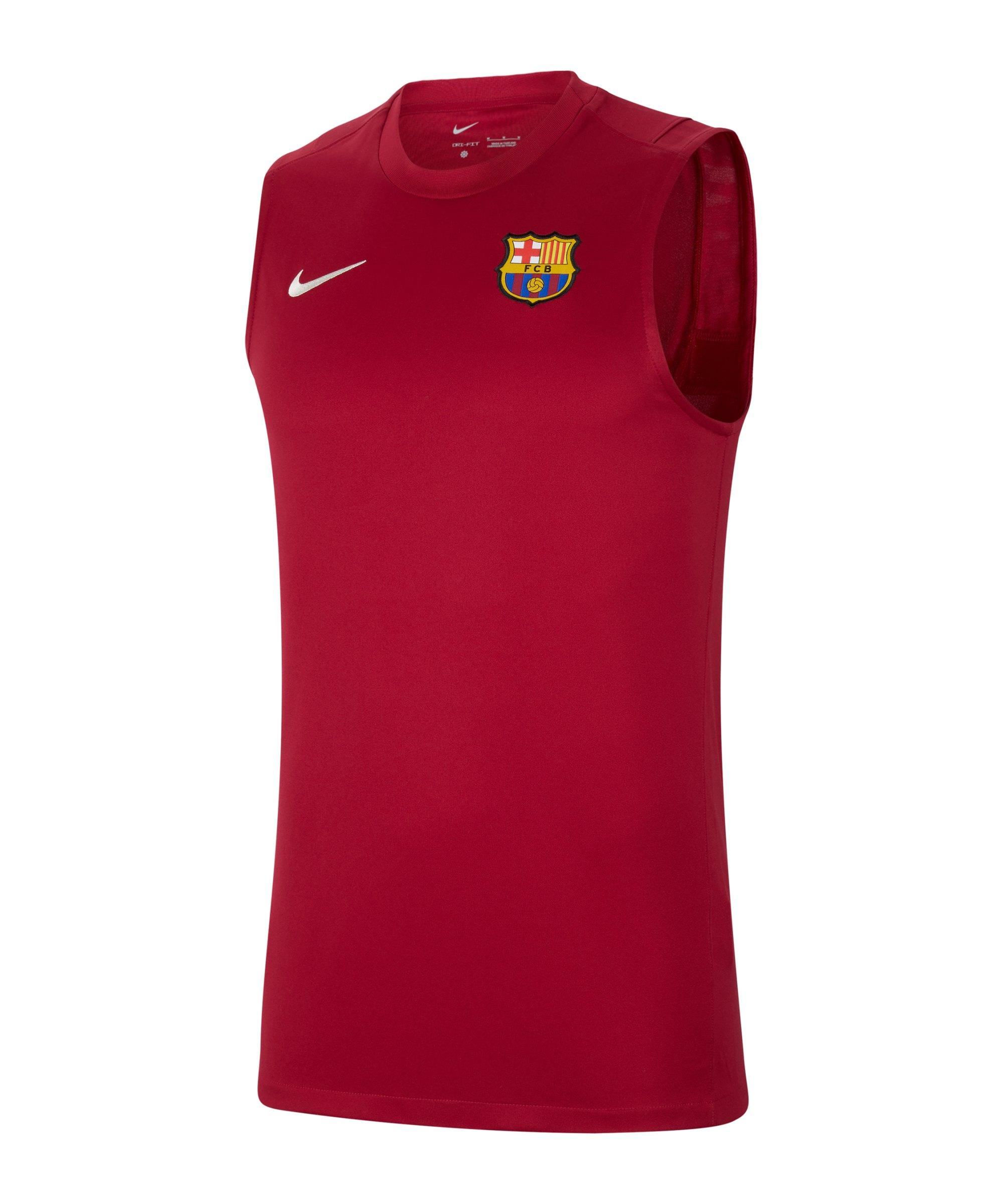 Nike FC Barcelona Strike Tanktop F621 - rot