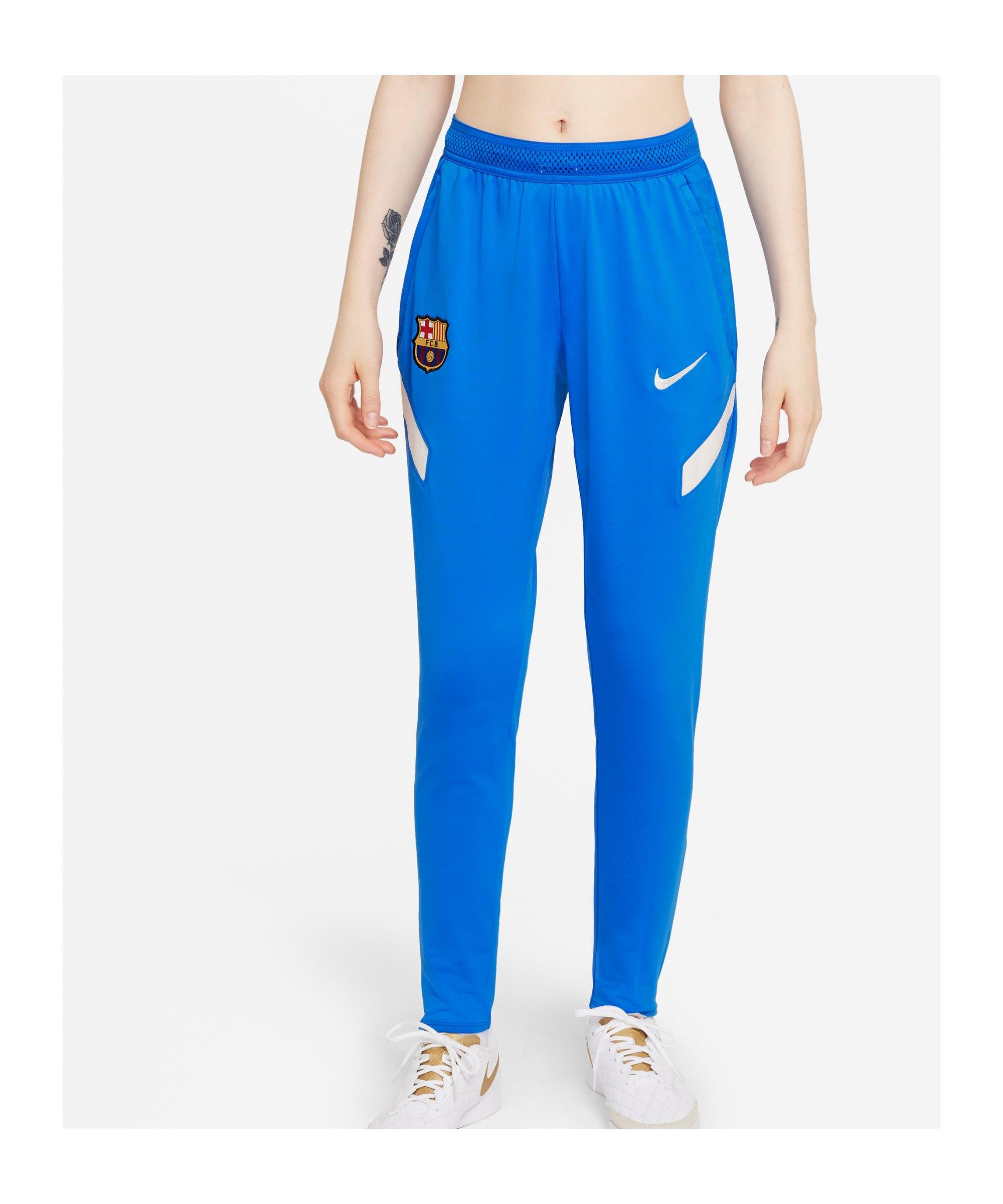 Nike FC Barcelona Strike Trainingshose Damen F427 - blau