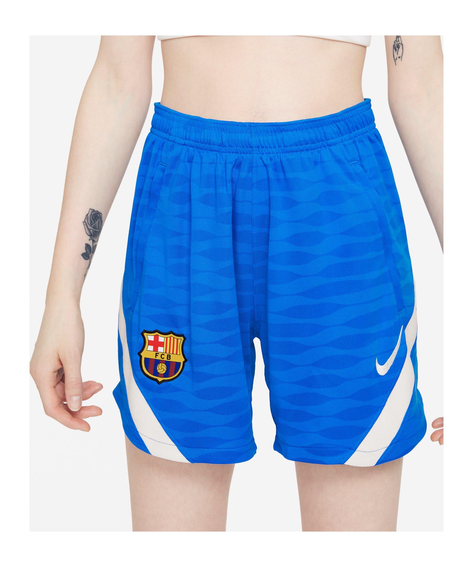 Nike FC Barcelona Strike Short Damen F428 - blau