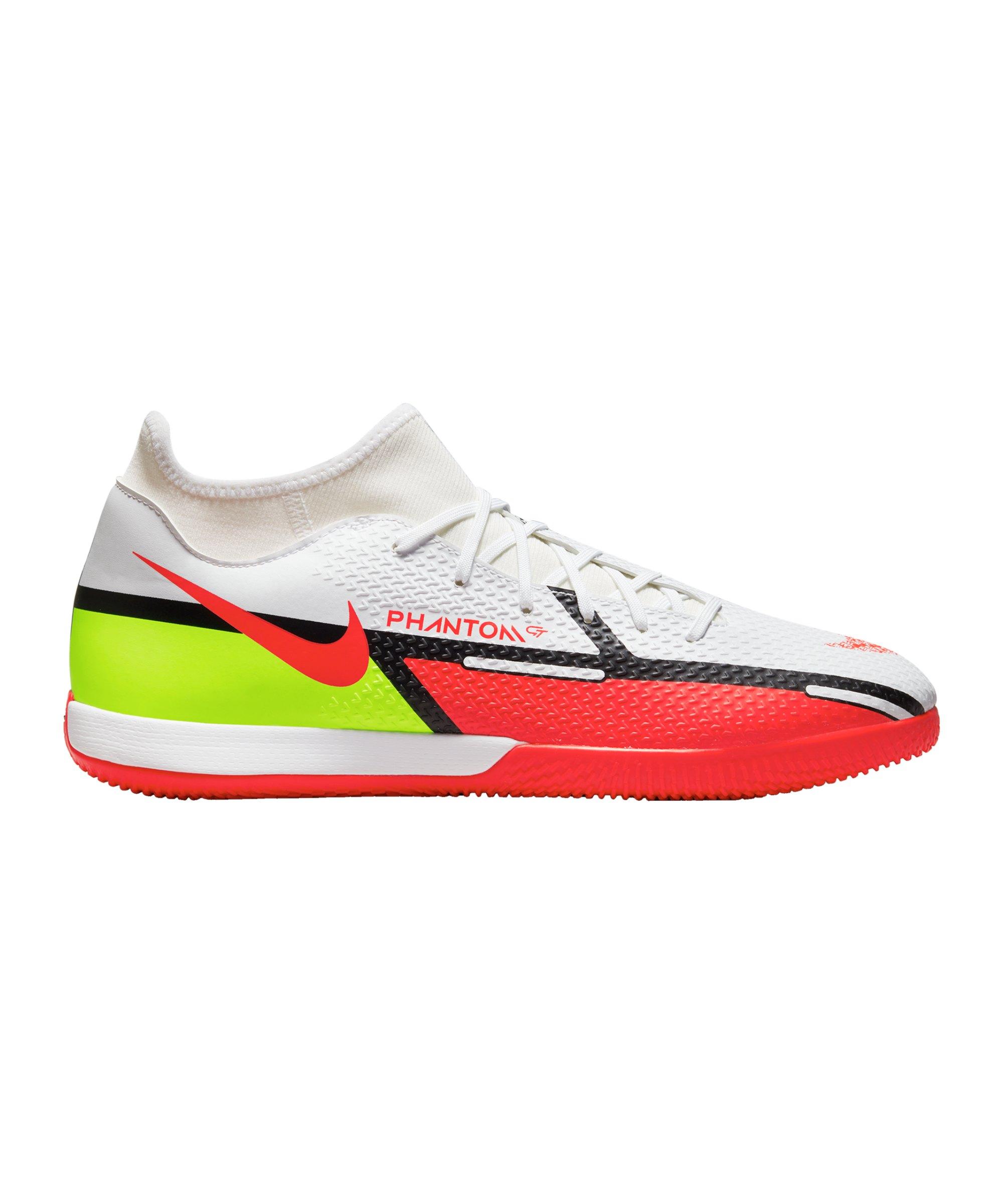 Nike Phantom GT2 Motivation Academy DF IC Halle Weiss F167 - weiss