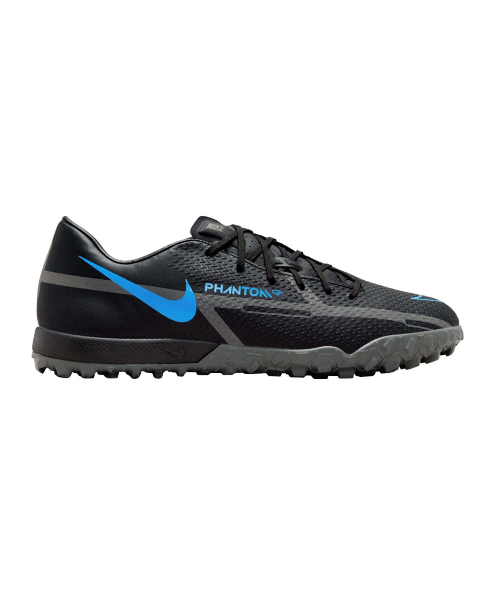 Nike Phantom GT2 Renew Academy TF Schwarz Blau F004 - schwarz