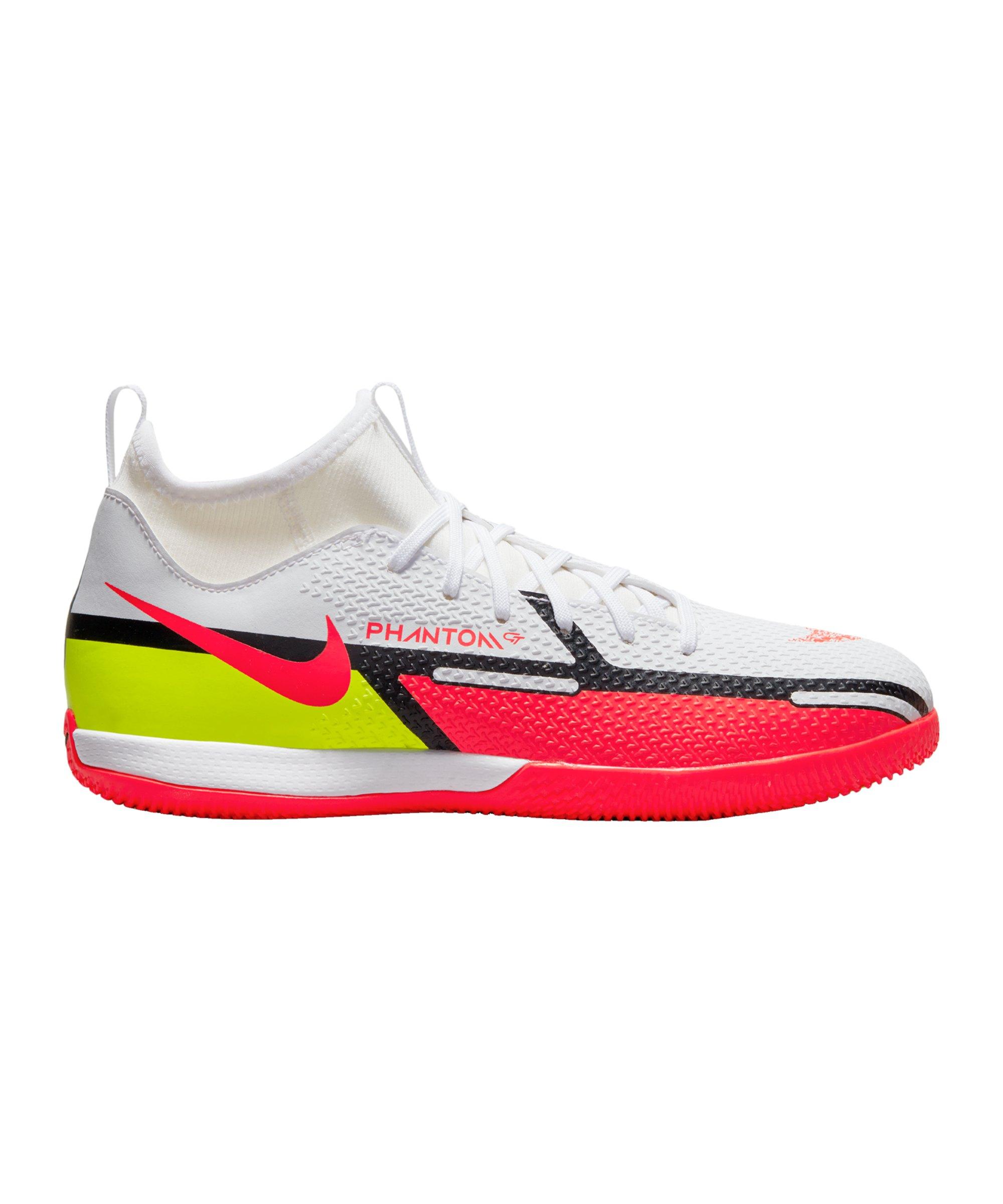 Nike Jr Phantom GT2 Motivation Academy DF IC Halle Kids Weiss F167 - weiss