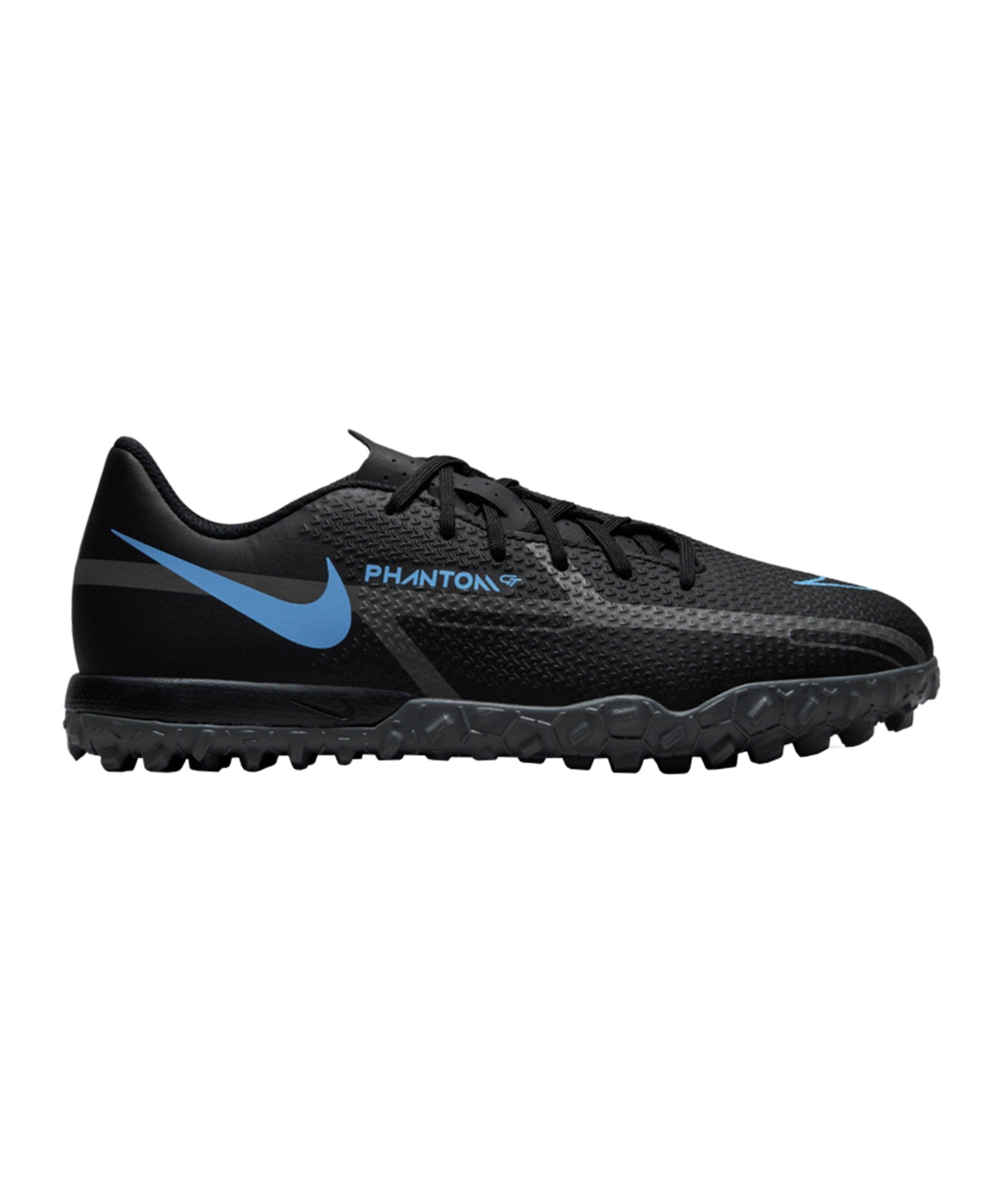 Nike Jr Phantom GT2 Renew Academy TF Kids Schwarz Blau F004 - schwarz