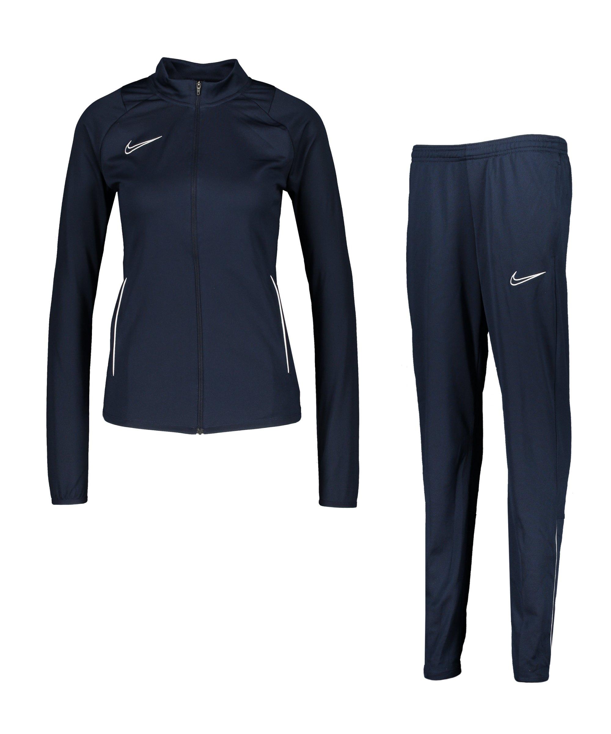 Nike Academy 21 Trainingsanzug Damen F451 - blau