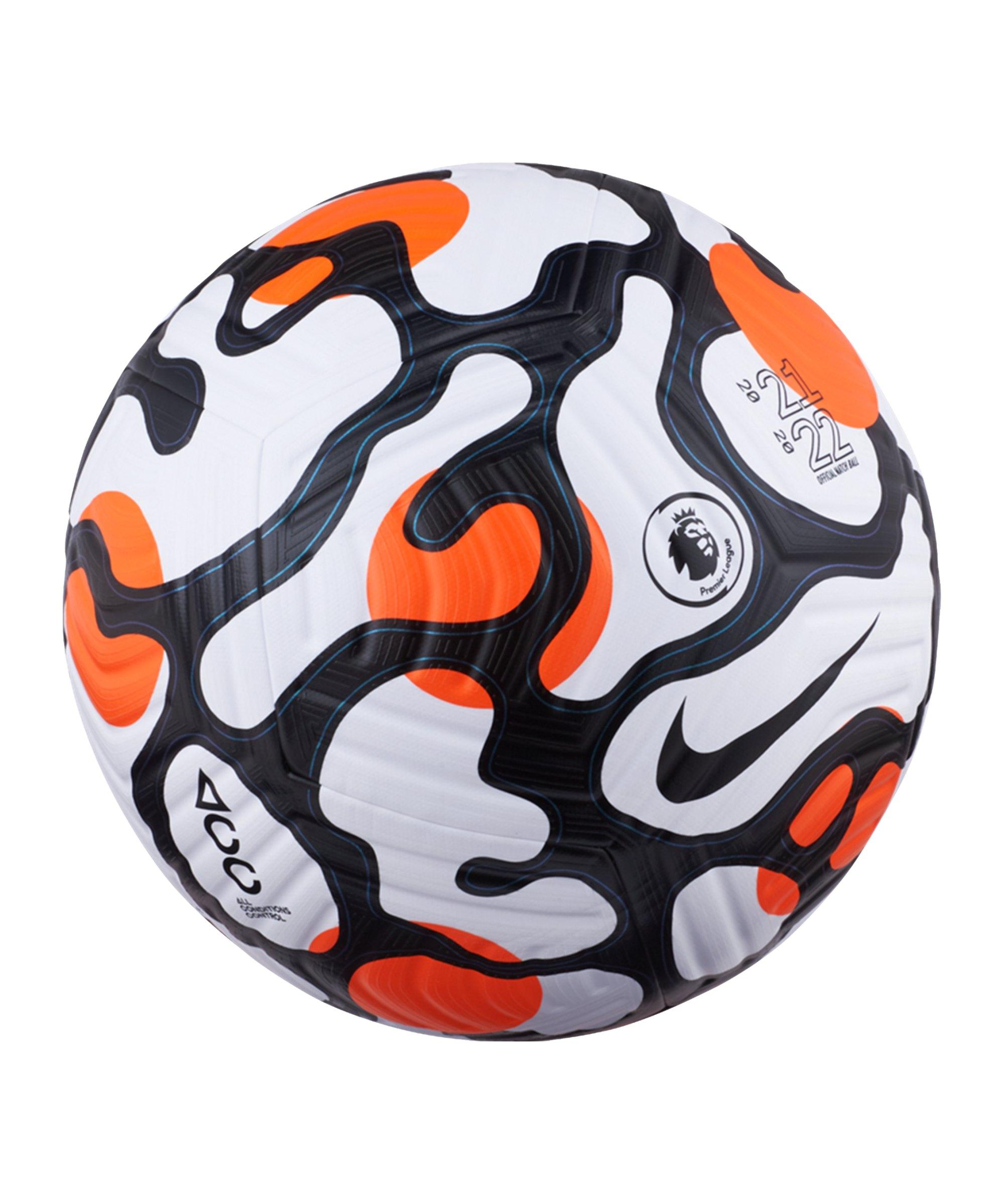 Nike Flight Premier League Spielball Weiss F100 - weiss