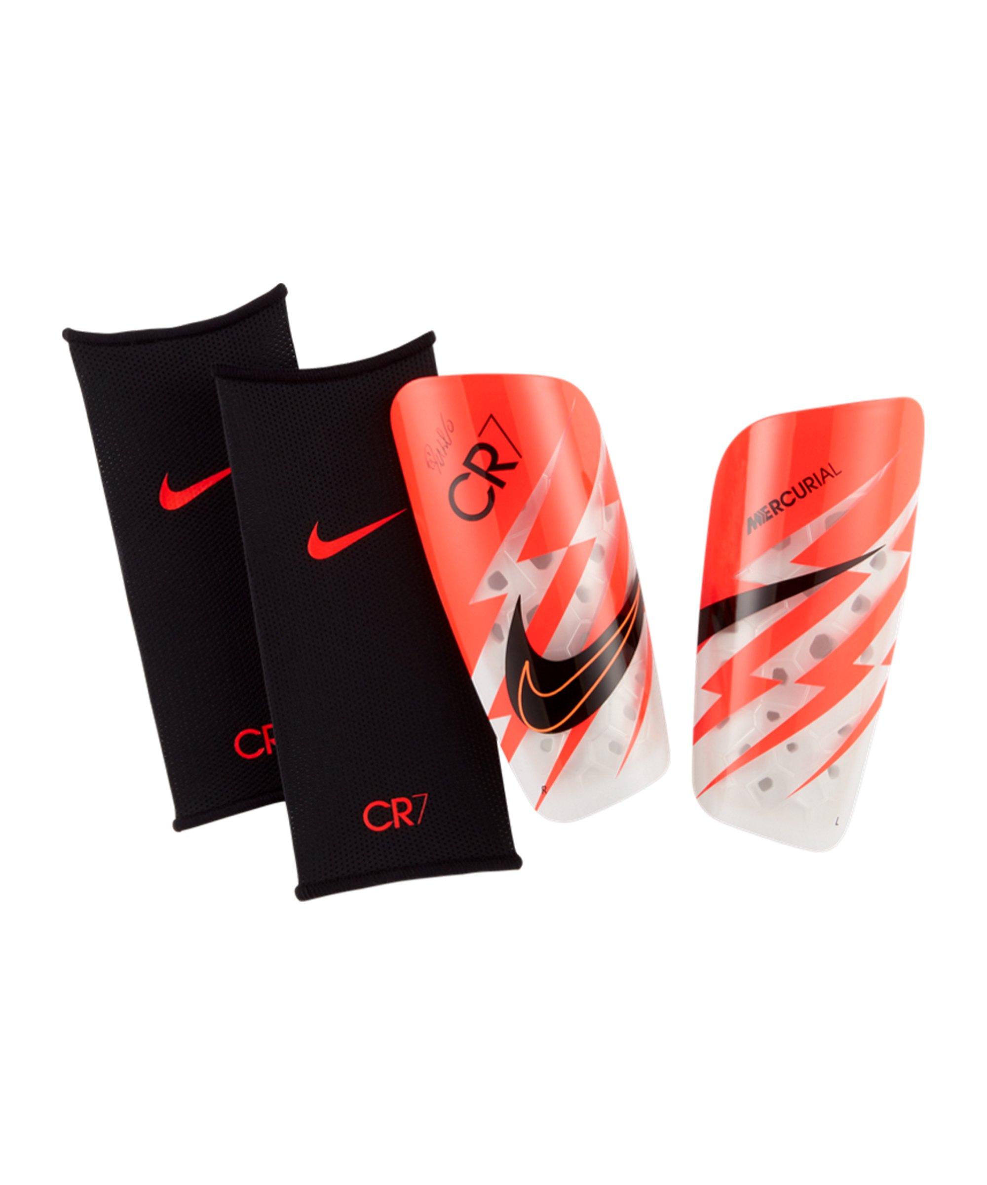 Nike CR7 Mercurial Lite Schienbeinschoner Rot F635 - rot
