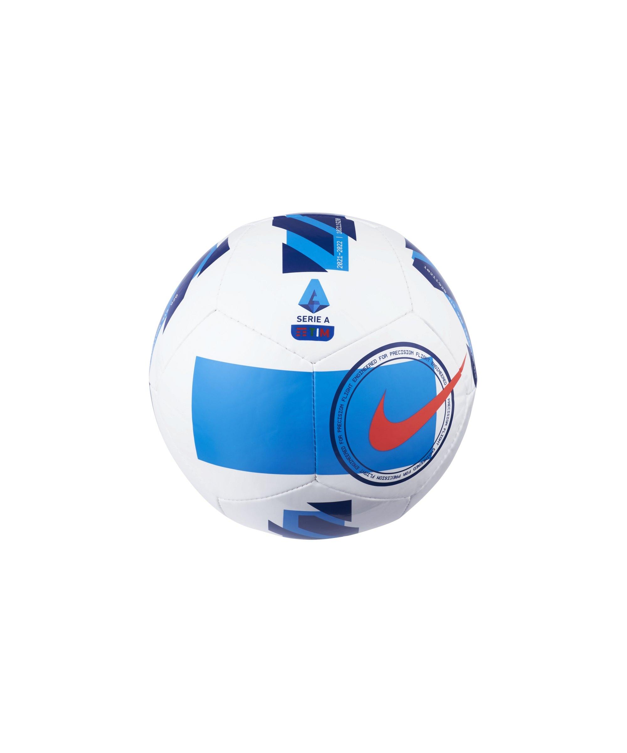 Nike Serie A Skills Miniball Weiss F100 - weiss