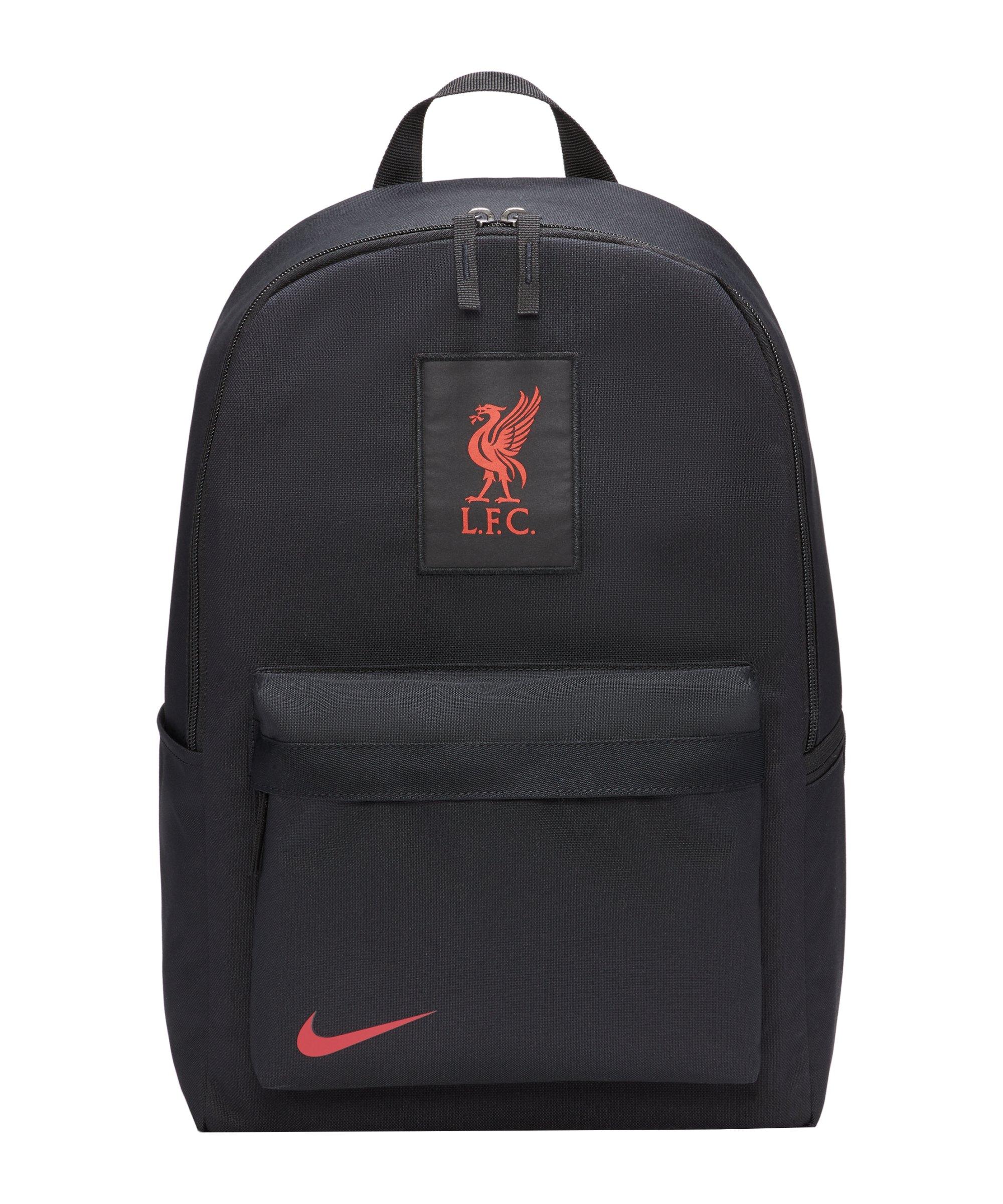 Nike FC Liverpool Rucksack Schwarz F010 - schwarz
