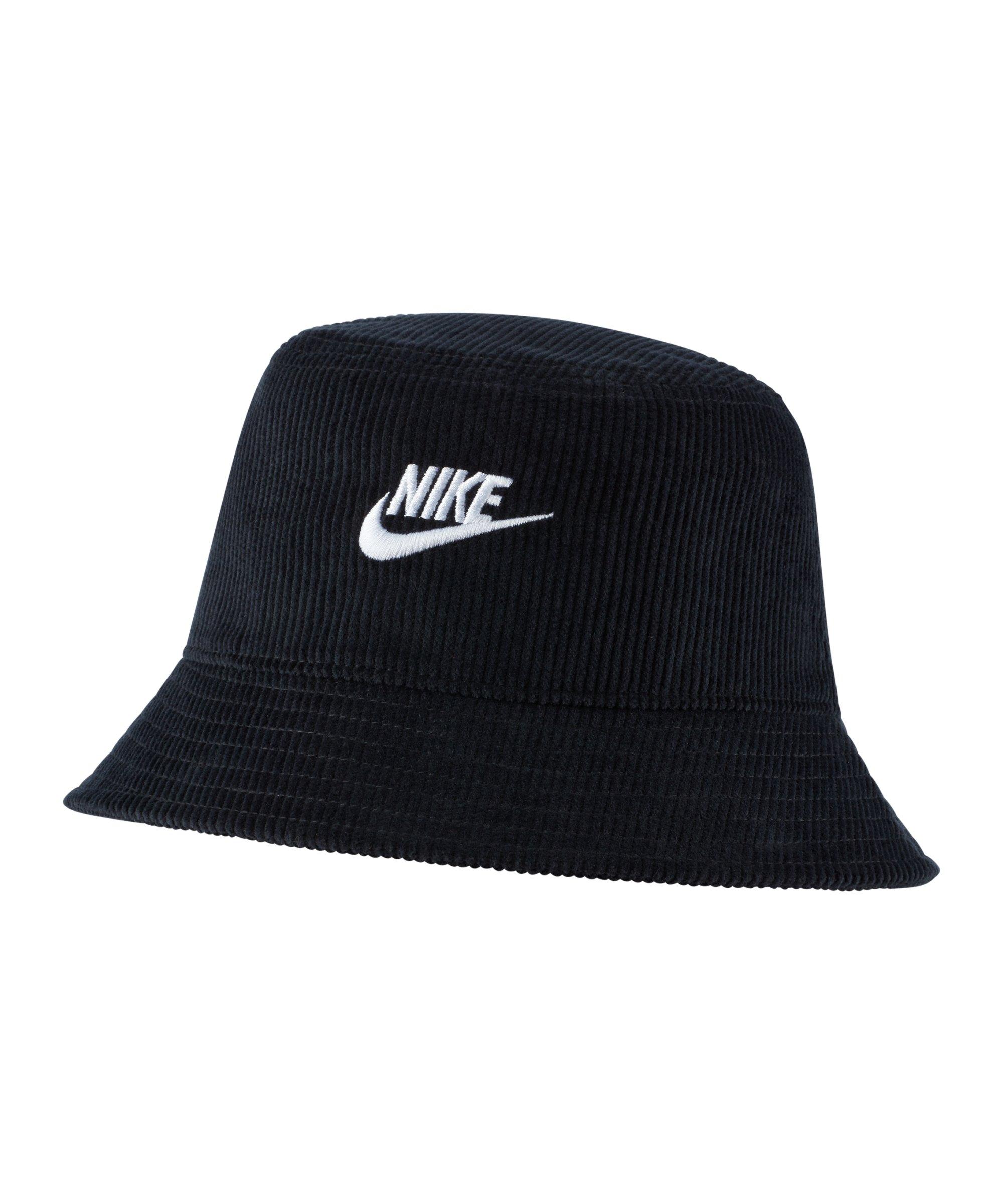 Nike Bucket Hat Schwarz F010 - schwarz