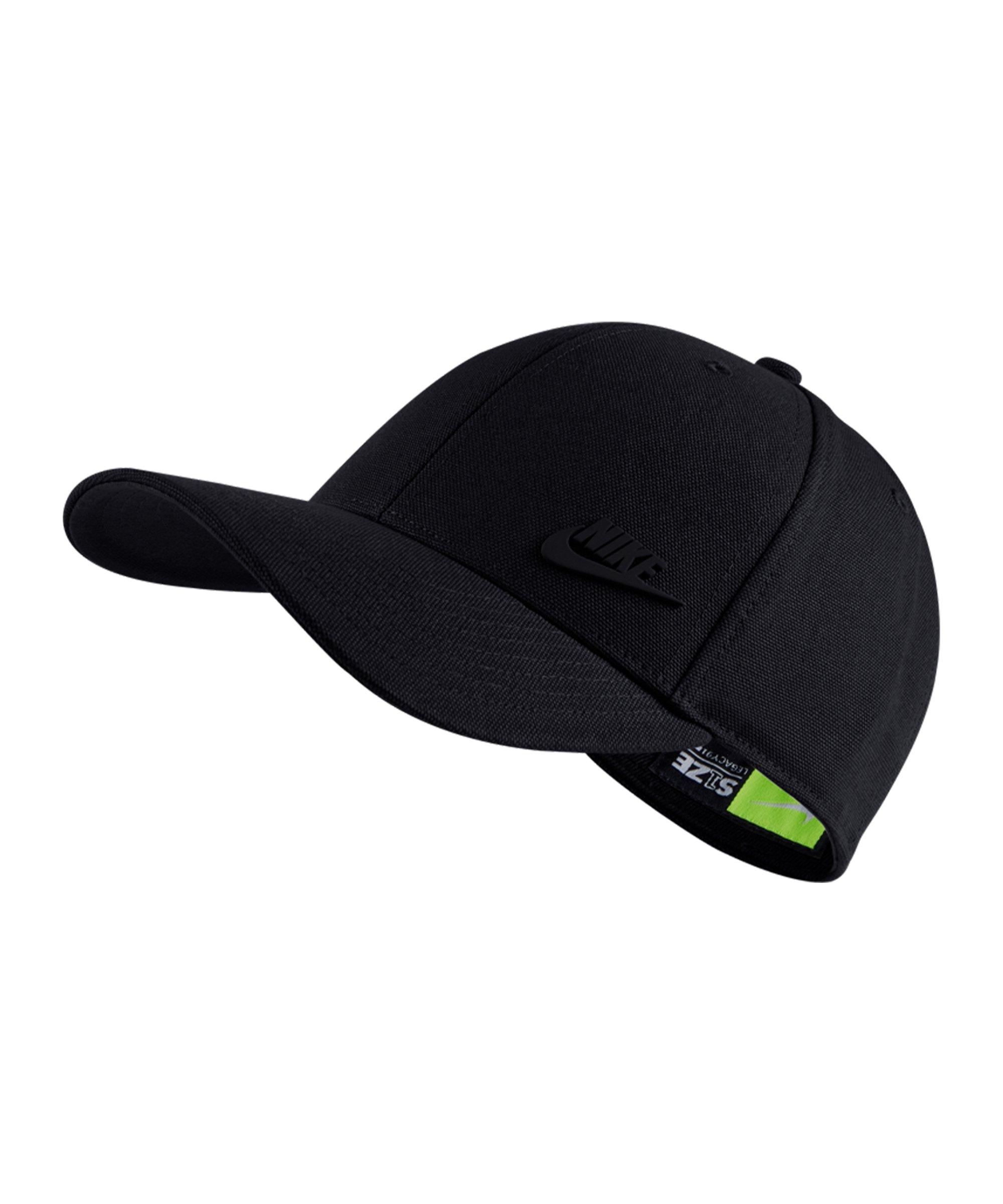 Nike Legacy 91 Metal Futura Cap Schwarz F011 - schwarz