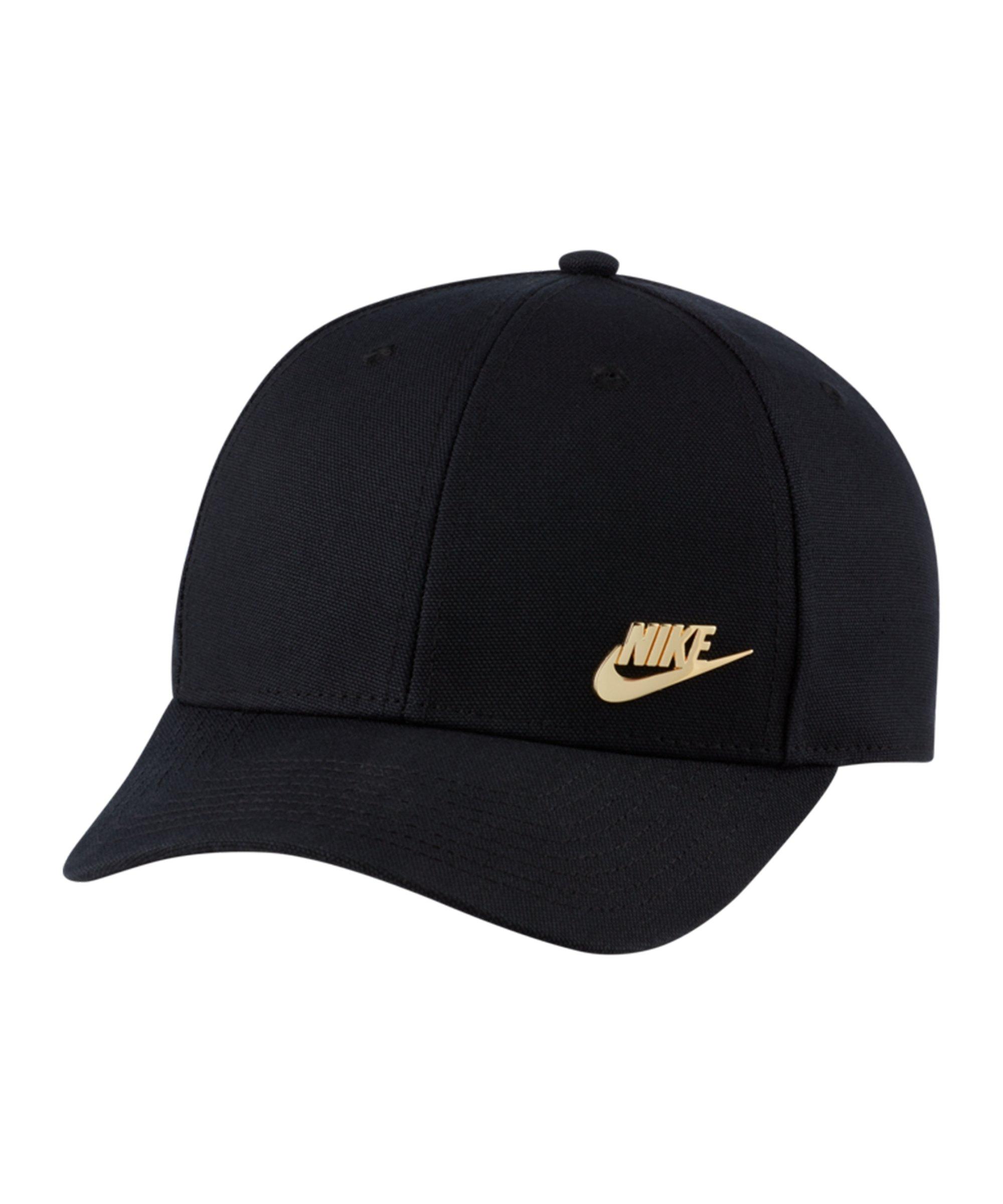 Nike Legacy 91 Metal Futura Cap Schwarz Gold F010 - schwarz