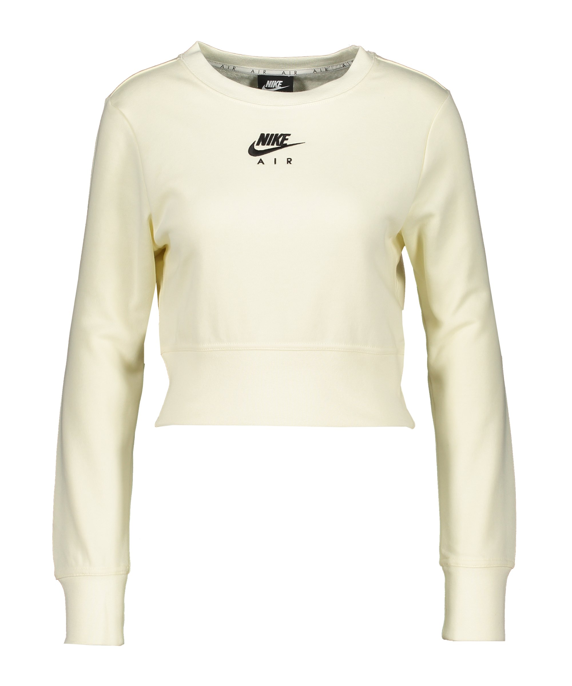 Nike Air Fleece Sweatshirt Damen Beige F113 - beige