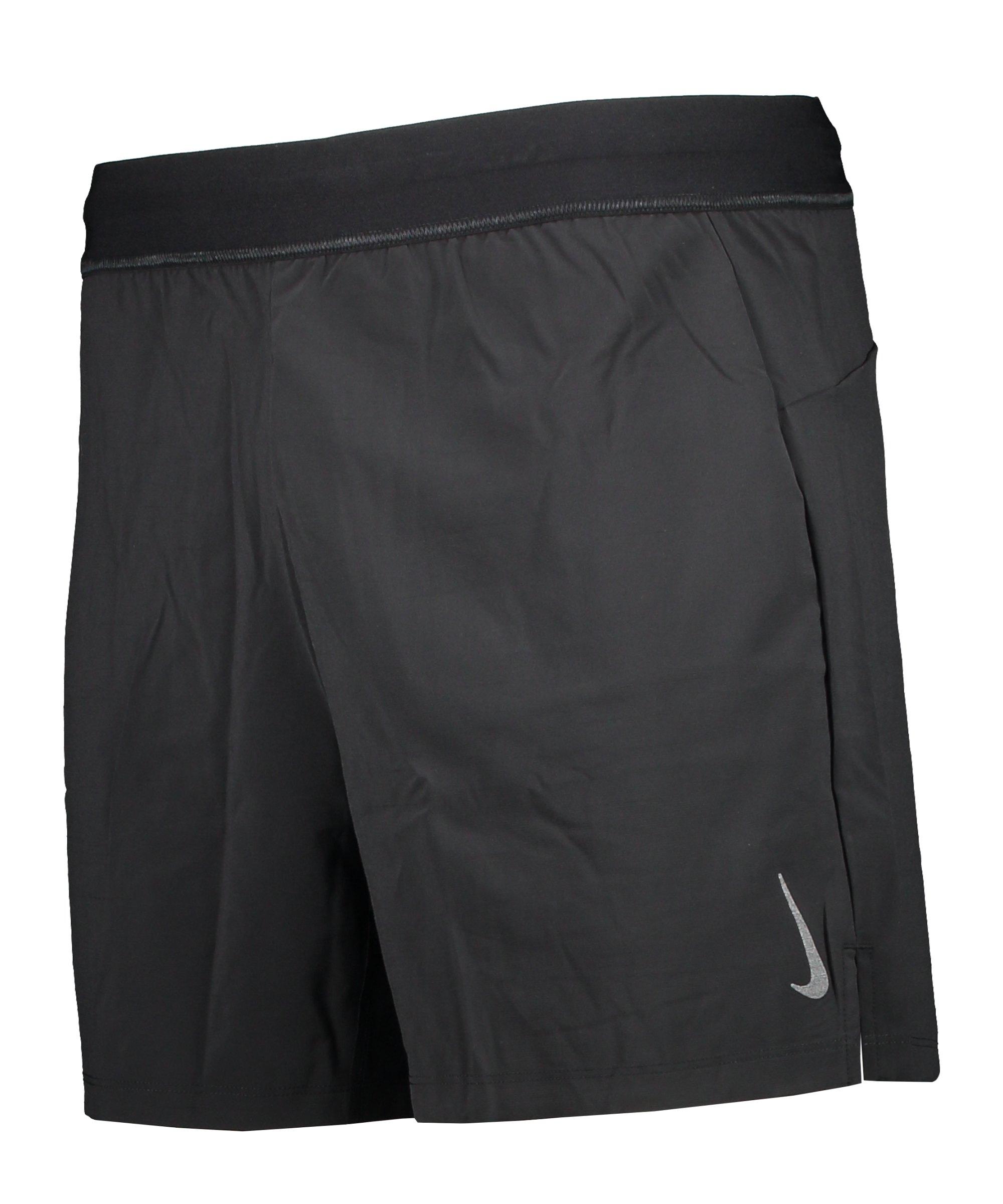 Nike Yoga 2-1 Active Short Training Schwarz F010 - schwarz